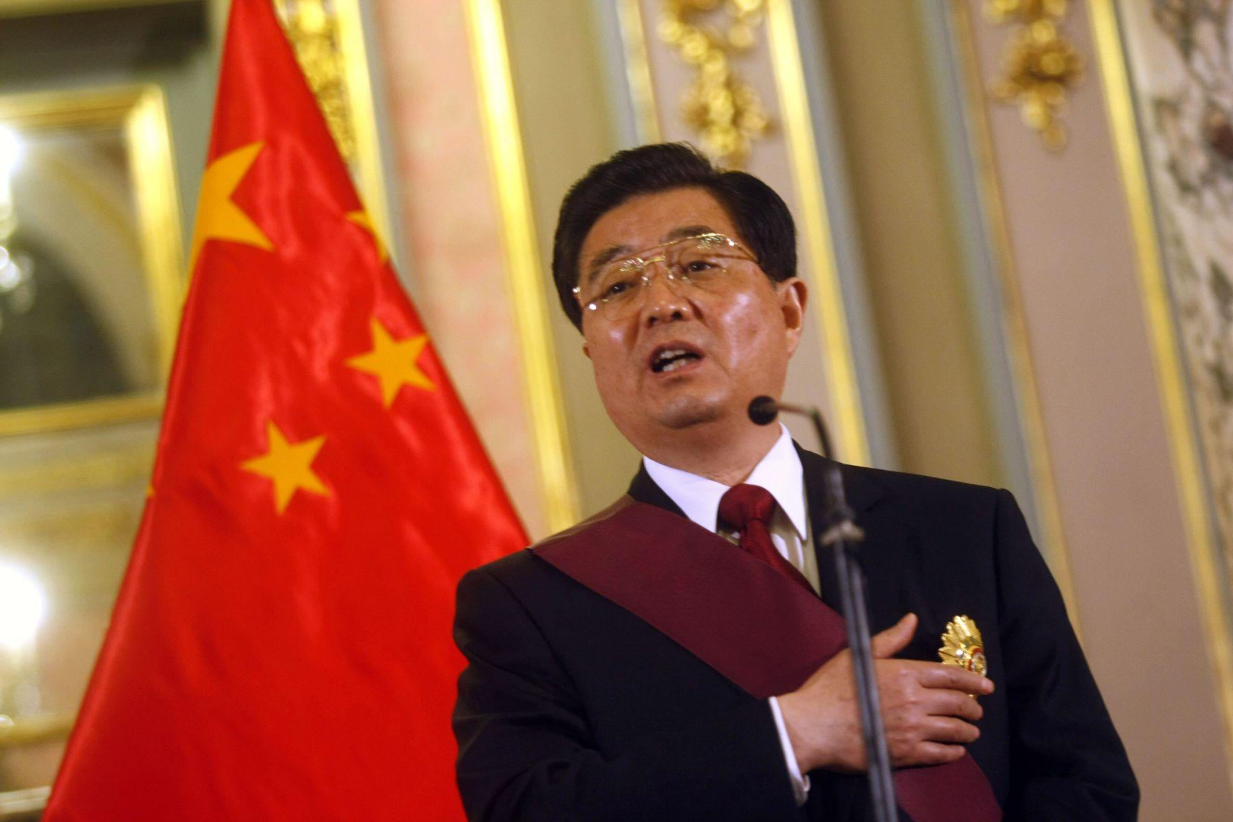 China Peru Exchange Greetings On Anniversary Of Diplomatic Ties
