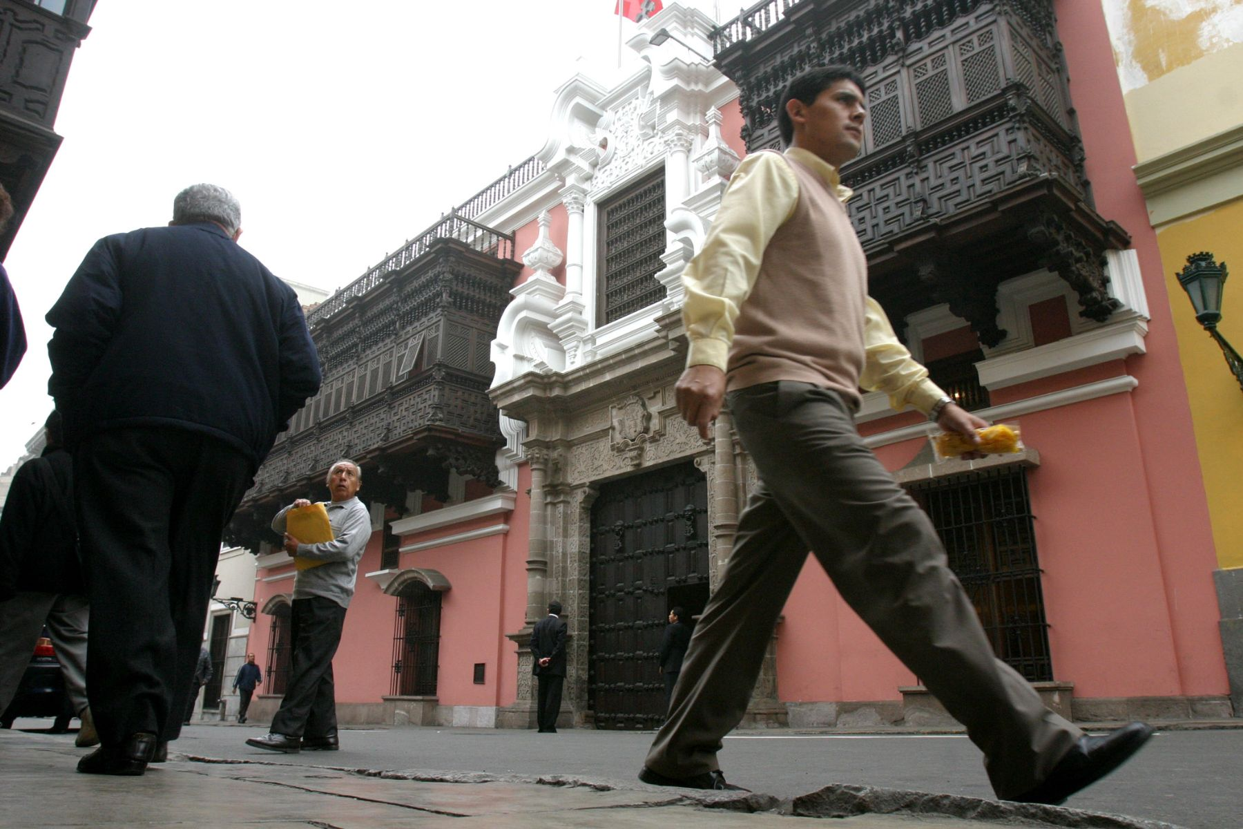 The Torre Tagle Palace in Lima is home to the Peruvian Ministry of Foreign Affairs. Photo: ANDINA/Archive