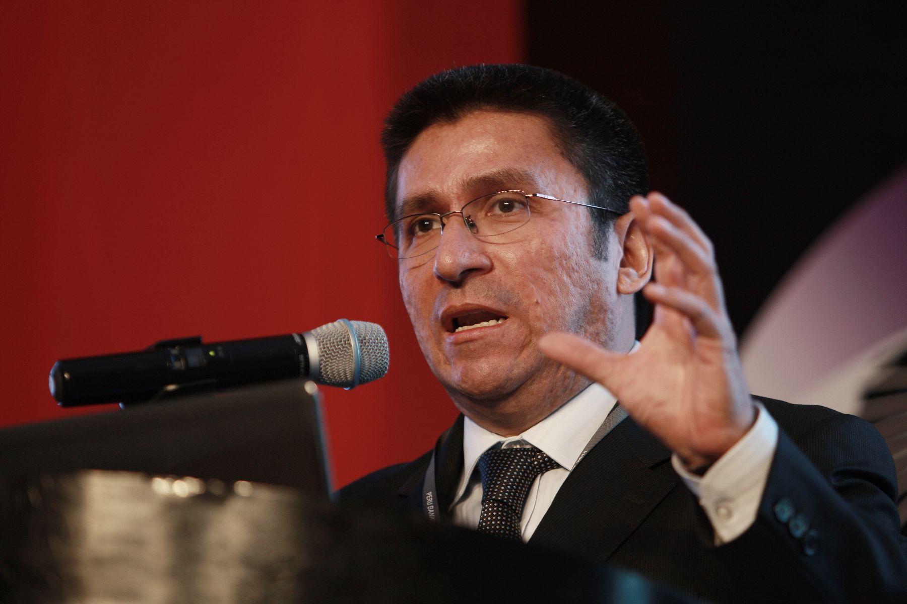 Viceministro de Economía, Hugo Perea. ANDINA/Norman Córdova