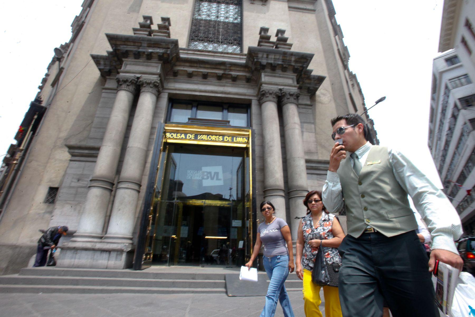 Bolsa de Valores de Lima (BVL). Foto: ANDINA/archivo
