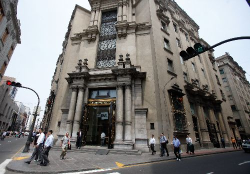 Sede de la Bolsa de Valores de Lima. ANDINA/archivo