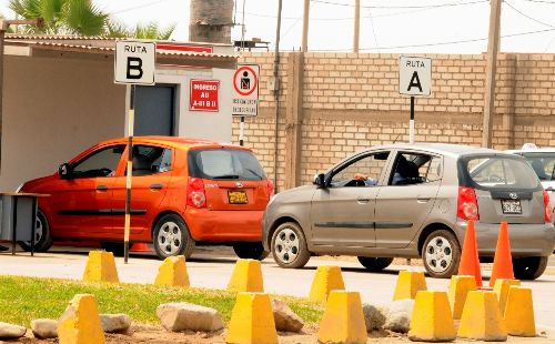 Fortalecen control en escuelas de conductores para la obtención de brevetes. Foto: ANDINA/archivo