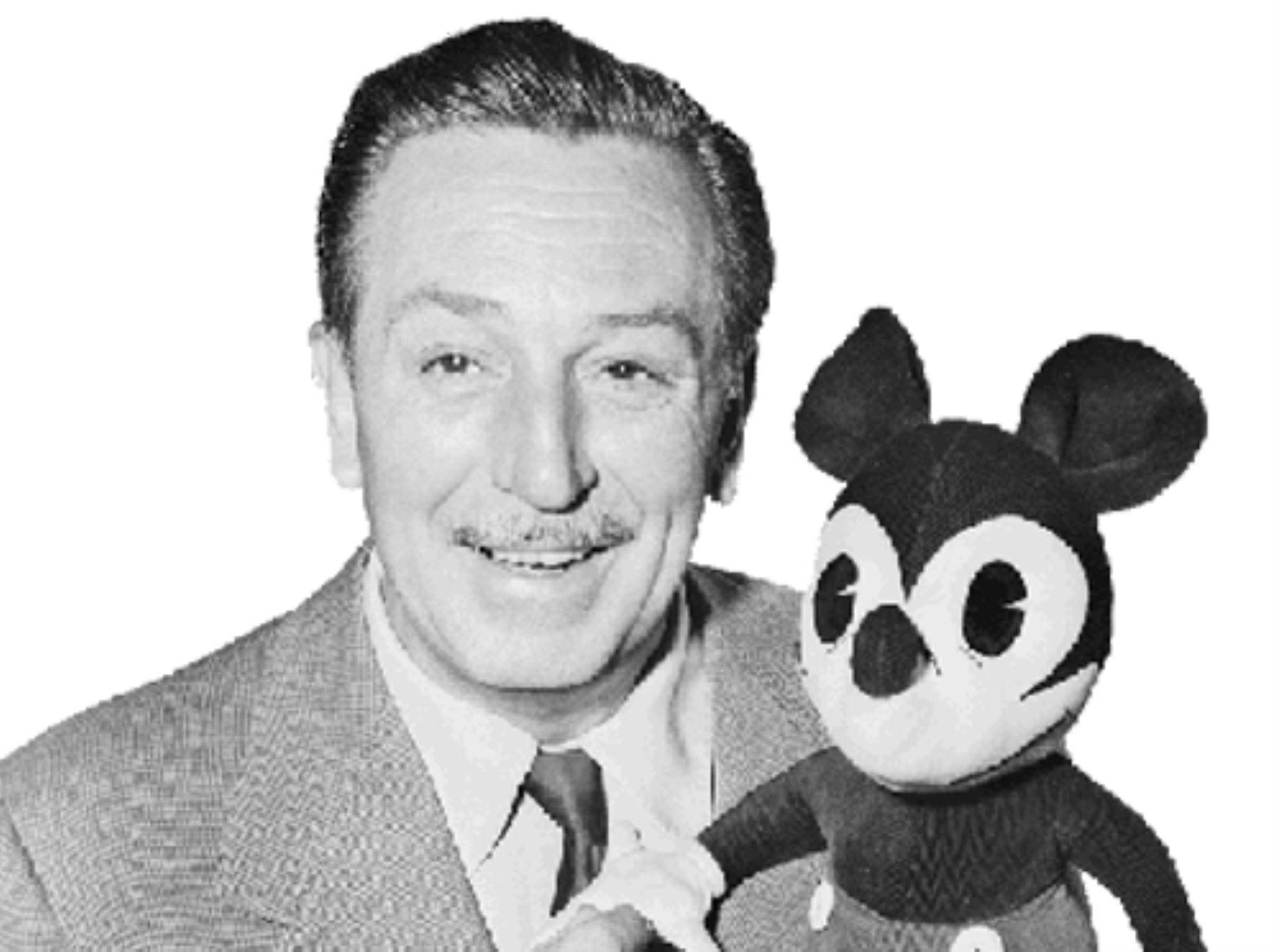 Creador De Mickey Mouse Pato Donald Tribilin Y Pluto Es