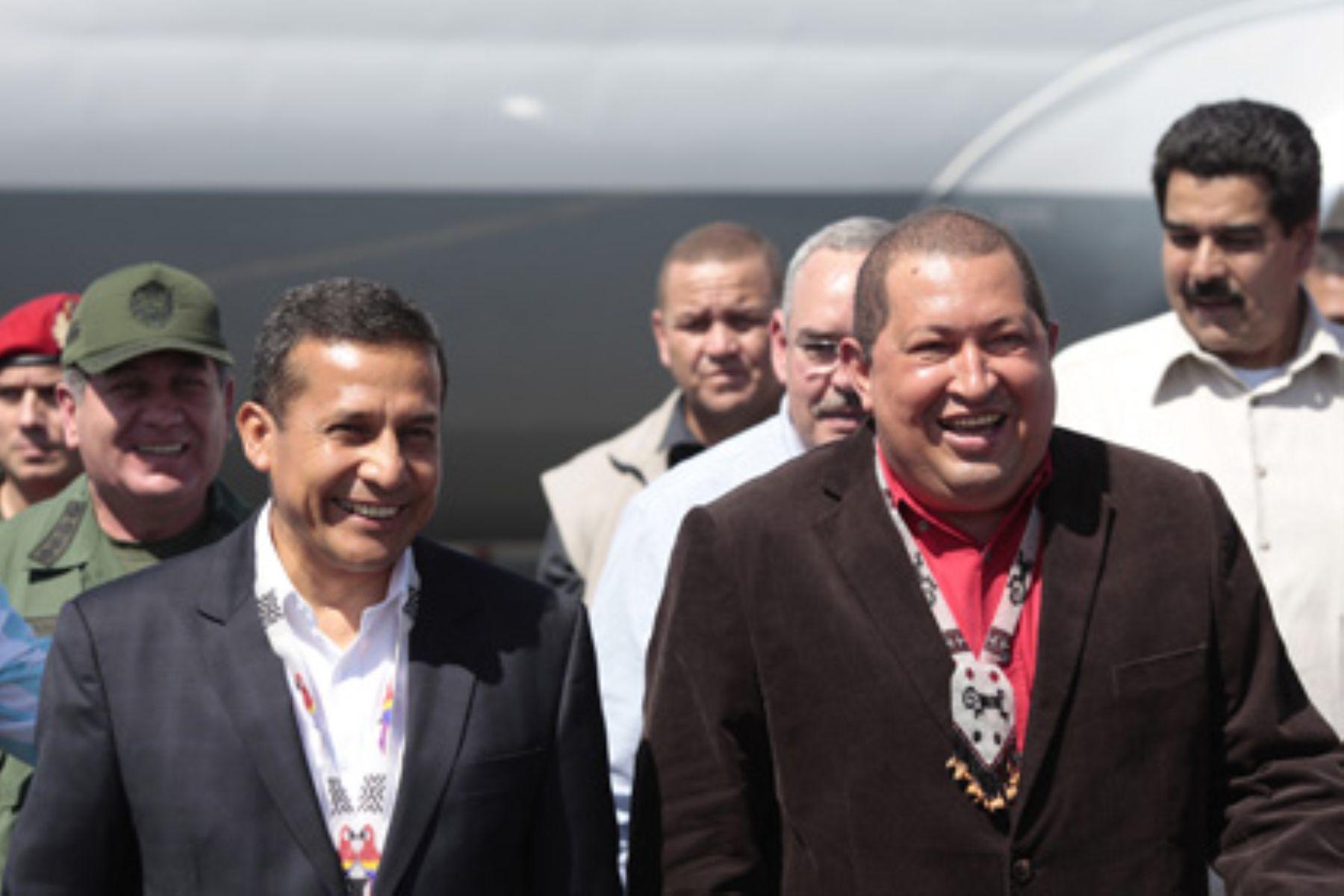Presidente venezolano resalta participación de Petroperú en Faja del Orinoco.