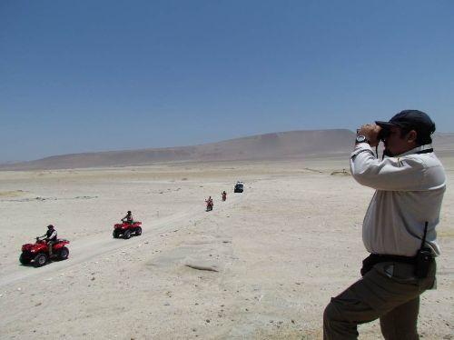 Rally Dakar 2019: Sernanp hará monitoreo en zonas de amortiguamiento de Paracas y San Fernando. ANDINA/Difusión