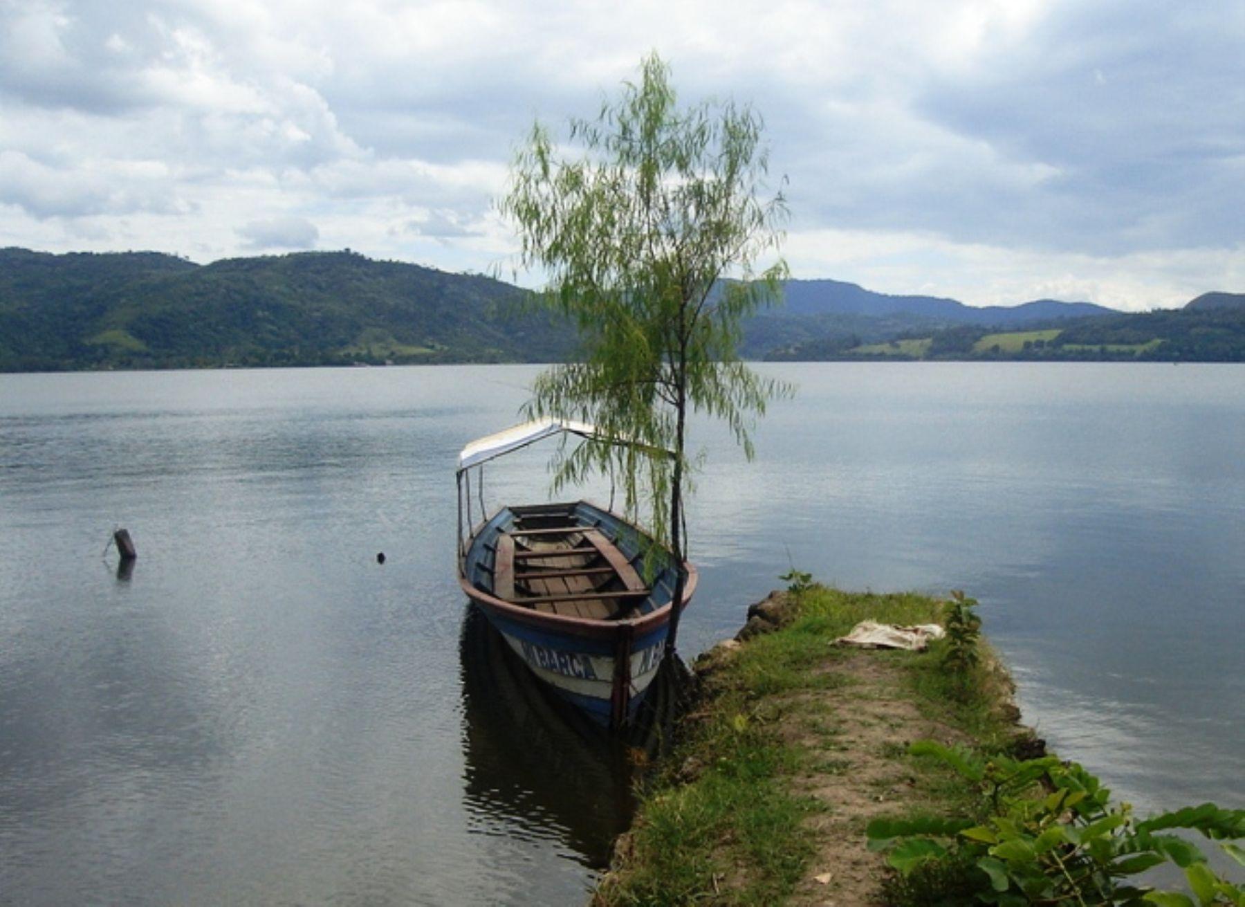Lago Sauce o Laguna Azul, en Tarapoto, región San Martín. INTERNET/Medios