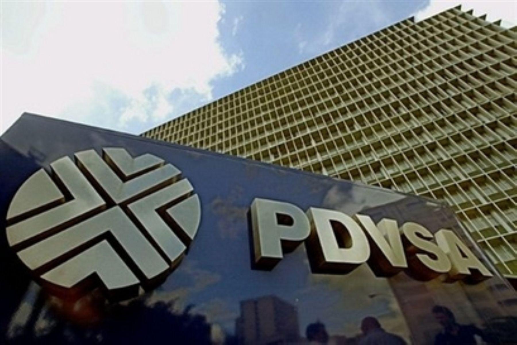 Oficina de de  petrolera venezolana PDVSA en Caracas