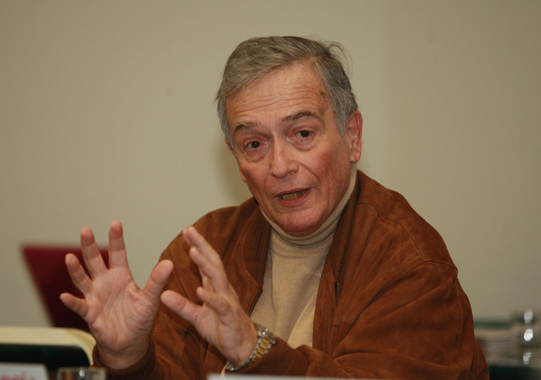 Ex presidente del Congreso, Henry Pease. ANDINA/Norman Córdova