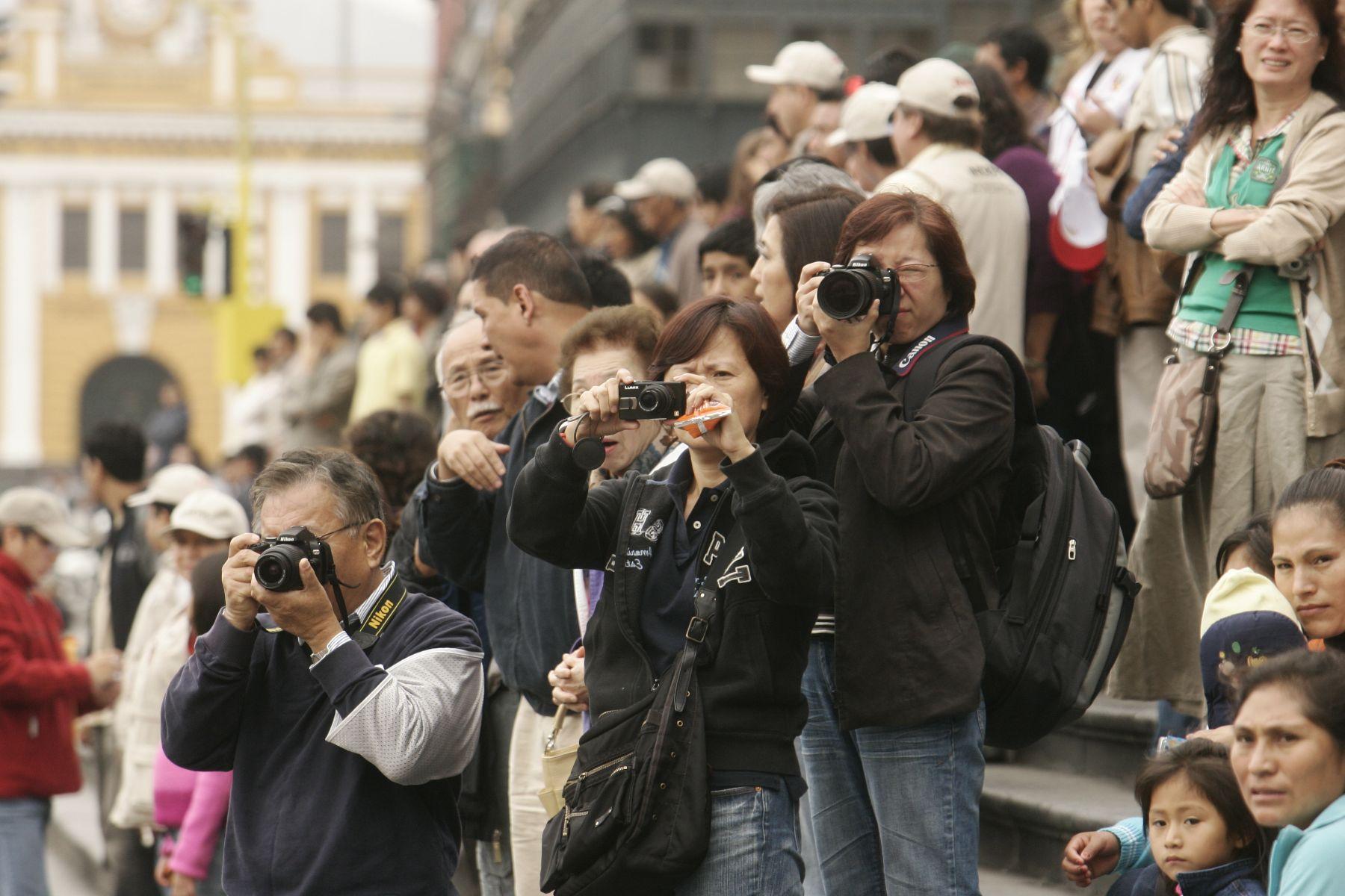 Perú recibirá más turistas chinos en el corto plazo . FOTO: ANDINA/ Archivo