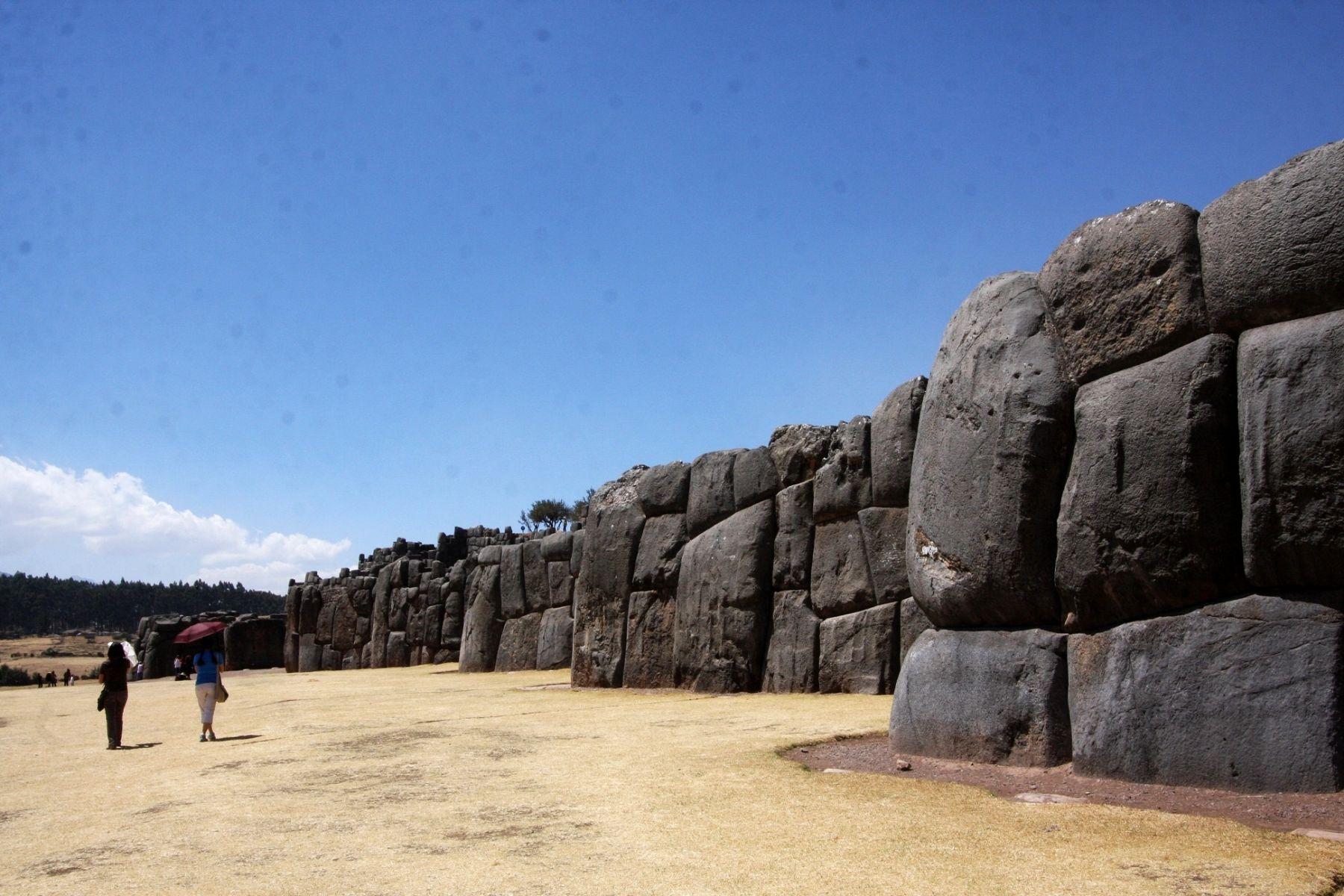Sacsayhuamán celebra con exposición fotográfica sus 36 años como Patrimonio Cultural de la Nación. ANDINA/Percy Hurtado