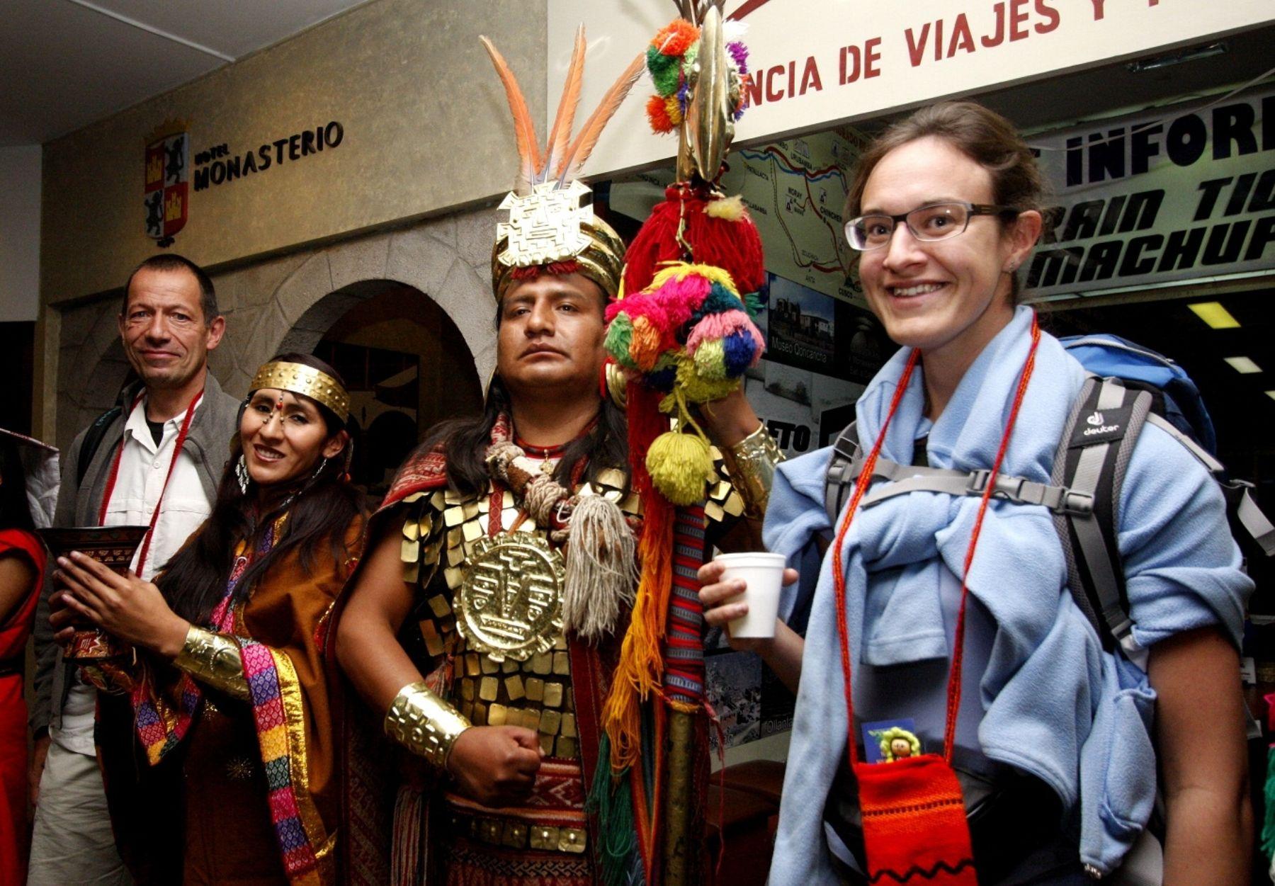 Cusco y otras regiones del Perú celebran el Día Mundial del Turismo con diversas actividades. ANDINA/Percy Hurtado Santillán