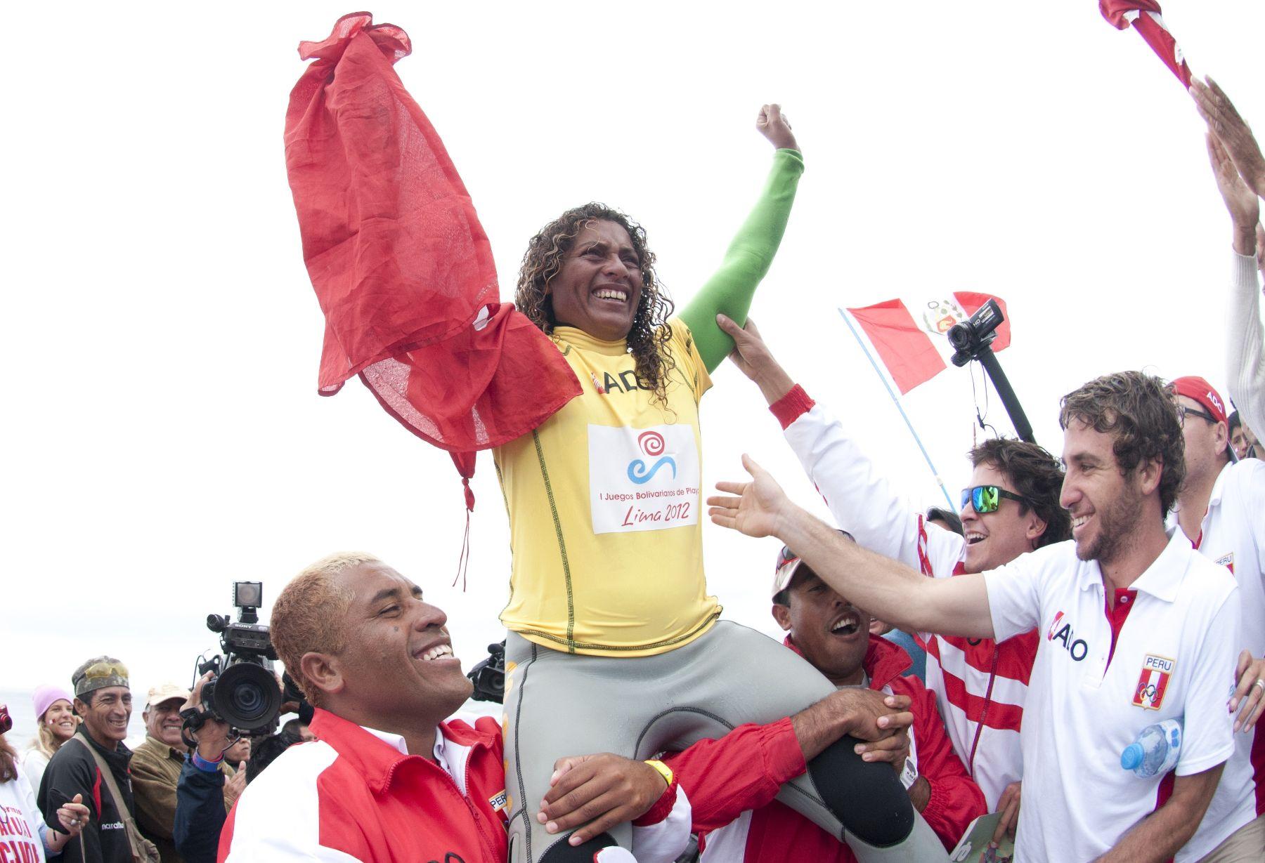 Analí Gómez gana madalla de oro en los Primeros Juegos Bolivarianos de Playa