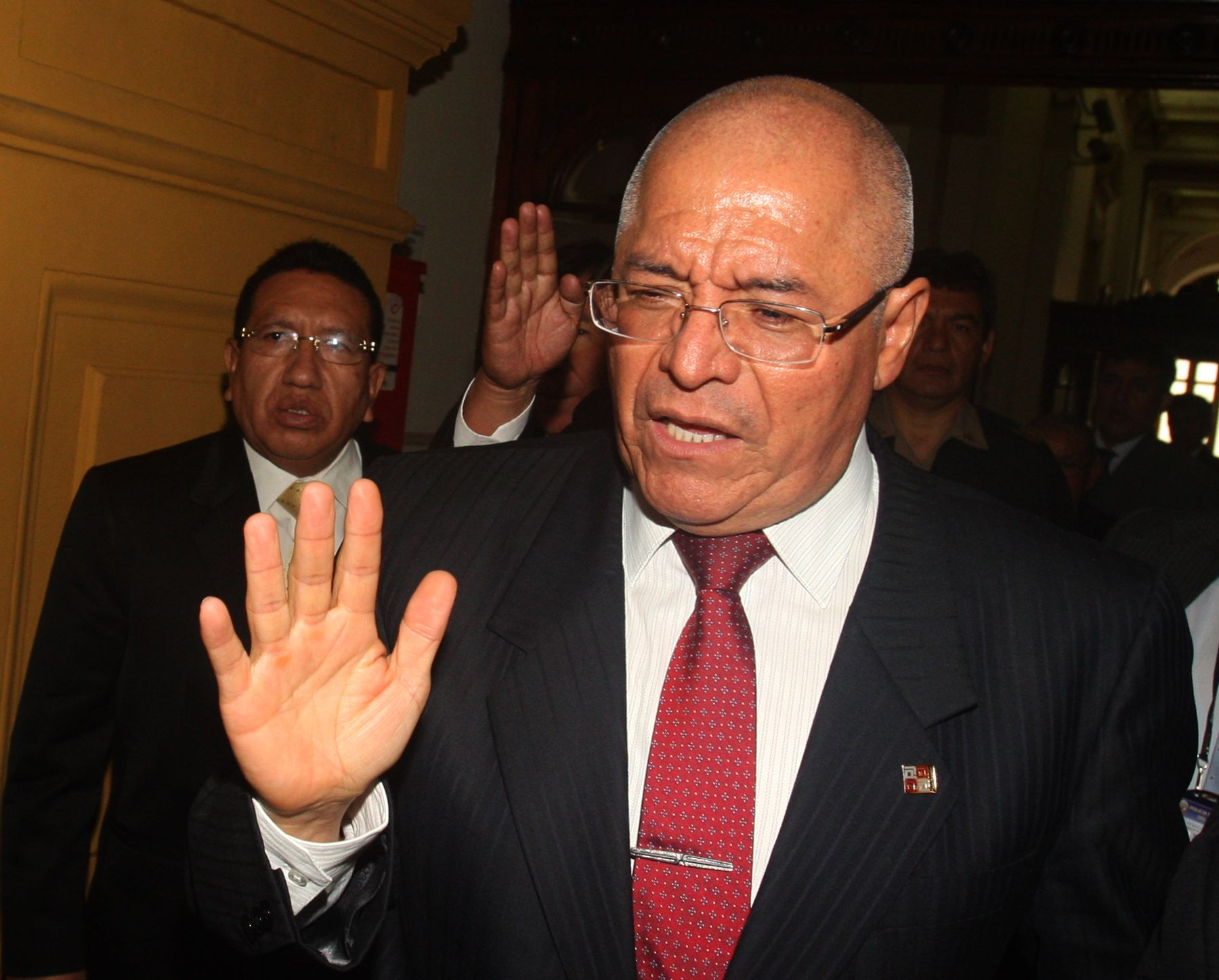 Magistrado César San Martín. ANDINA/Héctor Vinces