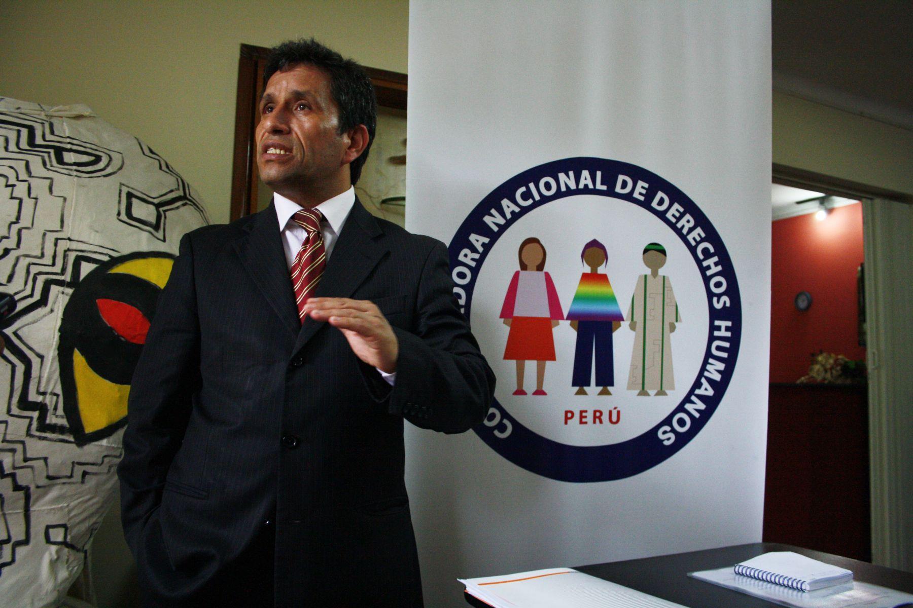 ANDINA/archivo Carlos Rivera es abogado de las víctimas de las esterilizaciones forzadas durante los años 90.