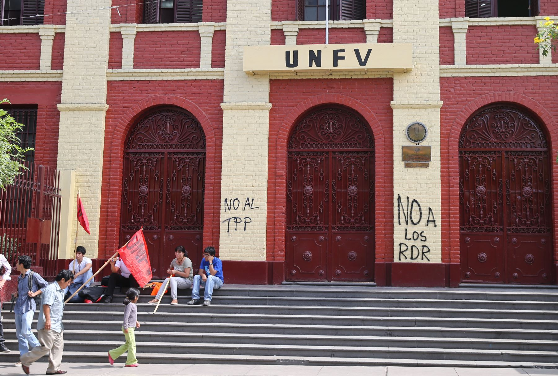Universidad Federico Villarreal. Foto: ANDINA/Norman Córdova