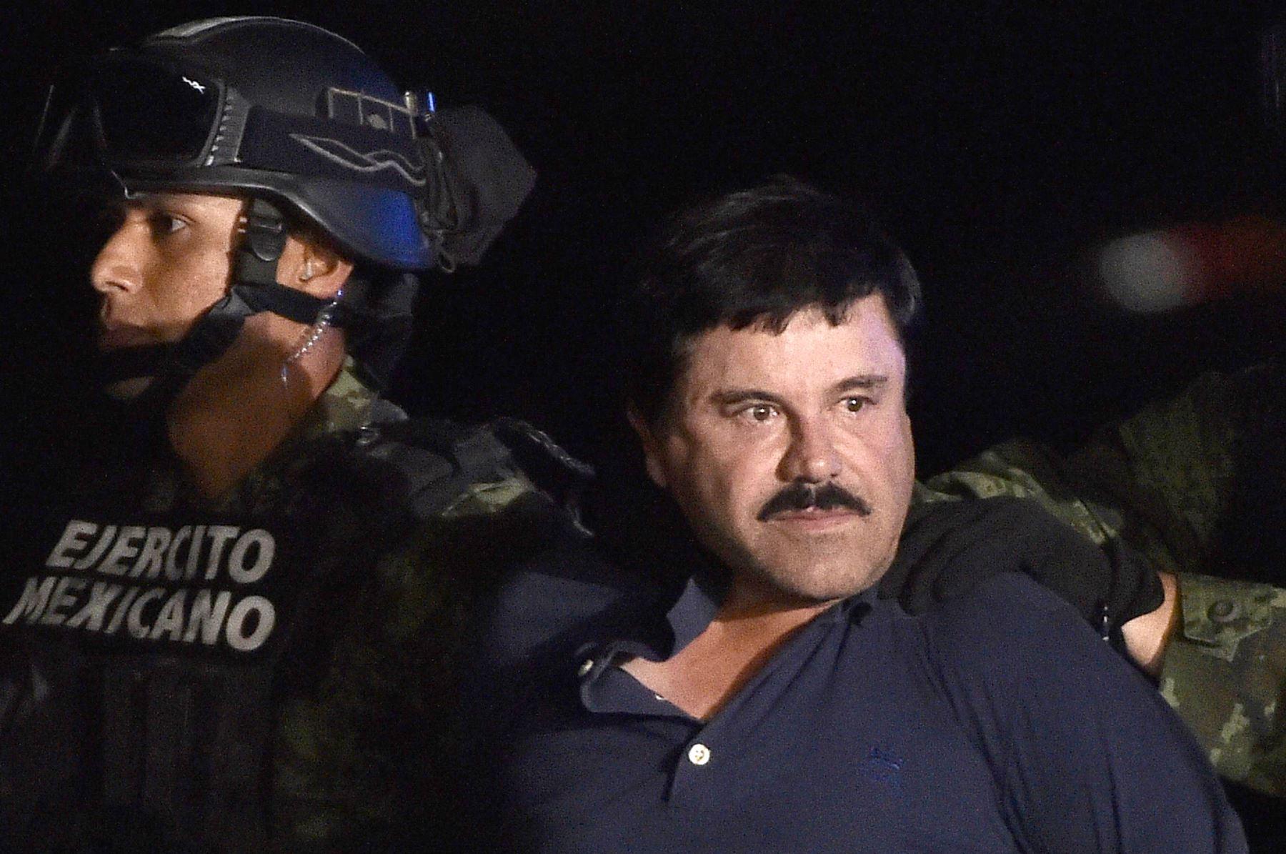 """Pero """"otro aspecto importante que permitió precisar su ubicación, fue el haber descubierto la intención de Guzmán Loera de filmar una película biográfica"""", dijo la fiscal en un mensaje. Foto: AFP"""