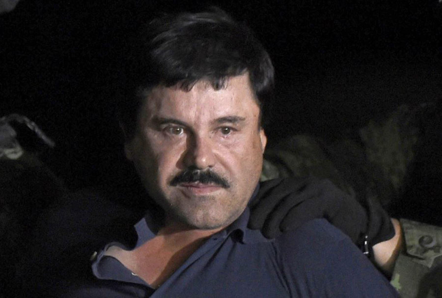 """El """"Chapo"""" Guzmán es condenado en los EEUU por delitos ligados al narcotráfico. AFP"""