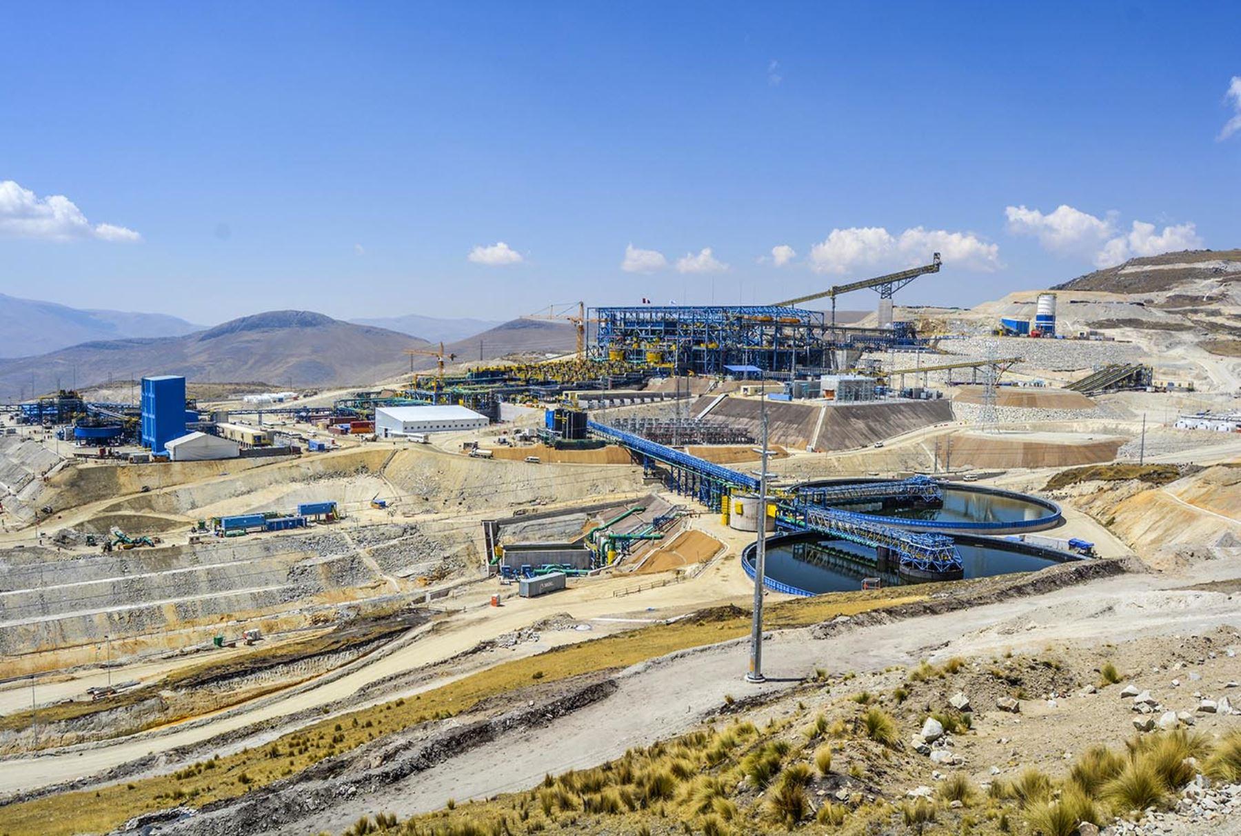 Proyecto minero Las Bambas impulsa crecimiento económico de Apurímac. ANDINA/Difusión