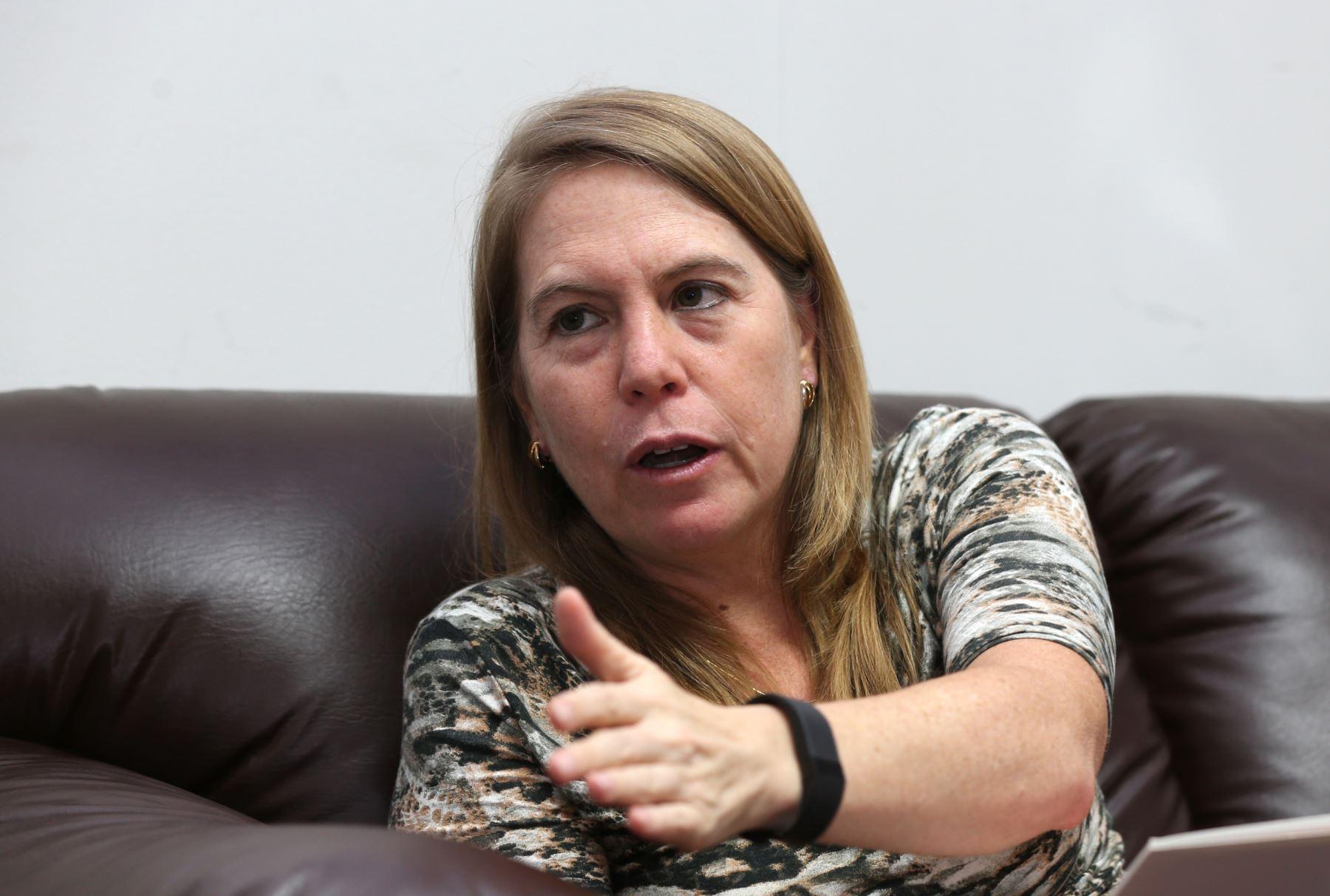 Presidenta de la SNP, Elena Conterno. ANDINA/Norman Córdova