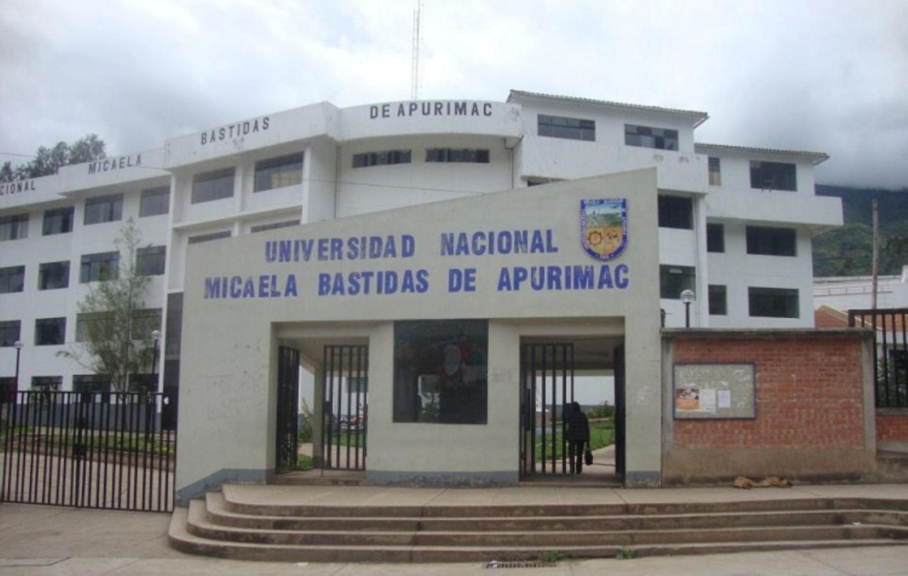 La Superintendencia Nacional de Educación Superior Universitaria (Sunedu) registró la firma a Leonardo Adolfo Prado Cárdenas como rector interino de la Universidad Nacional Micaela Bastidas de Apurímac (Unamba). INTERNET/Medios