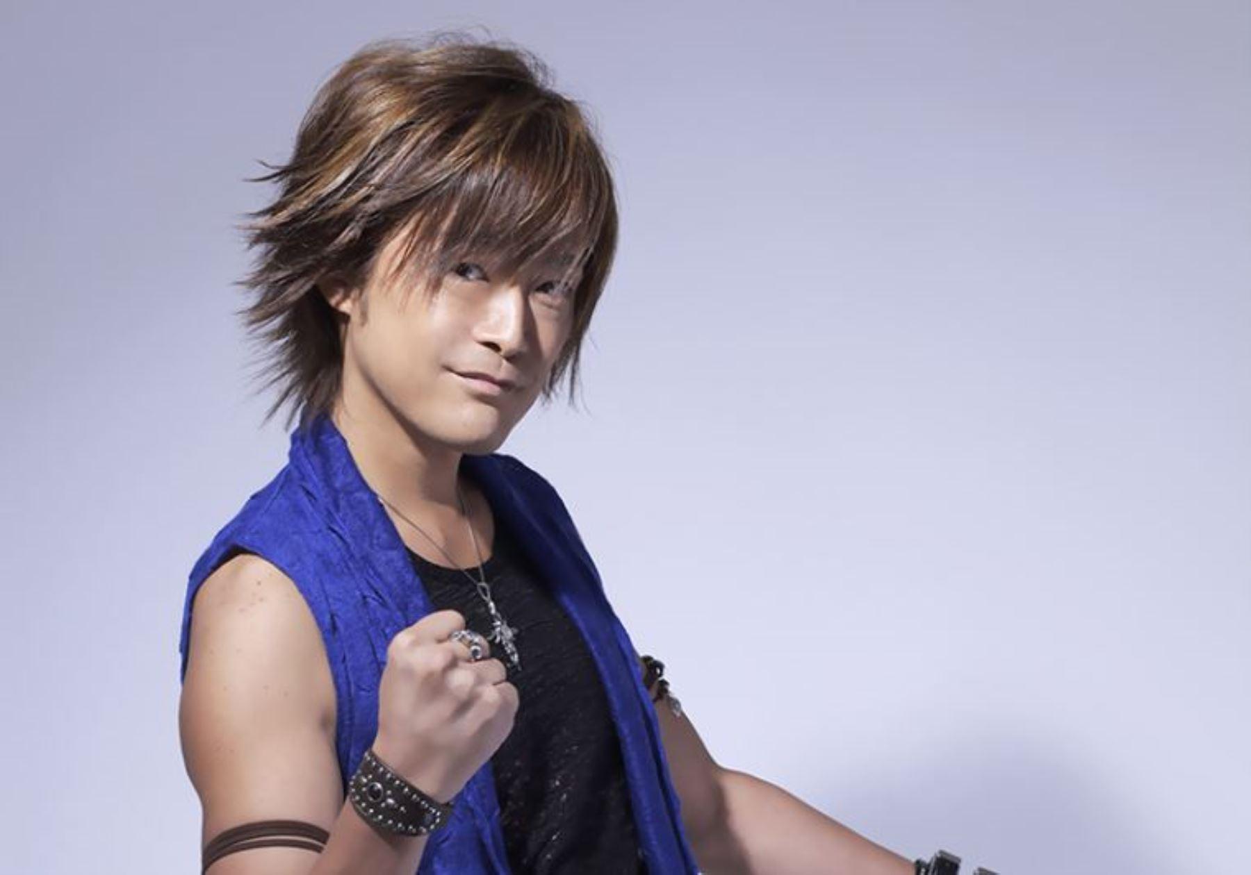 Cantante japonés Hideyuki Takahashi