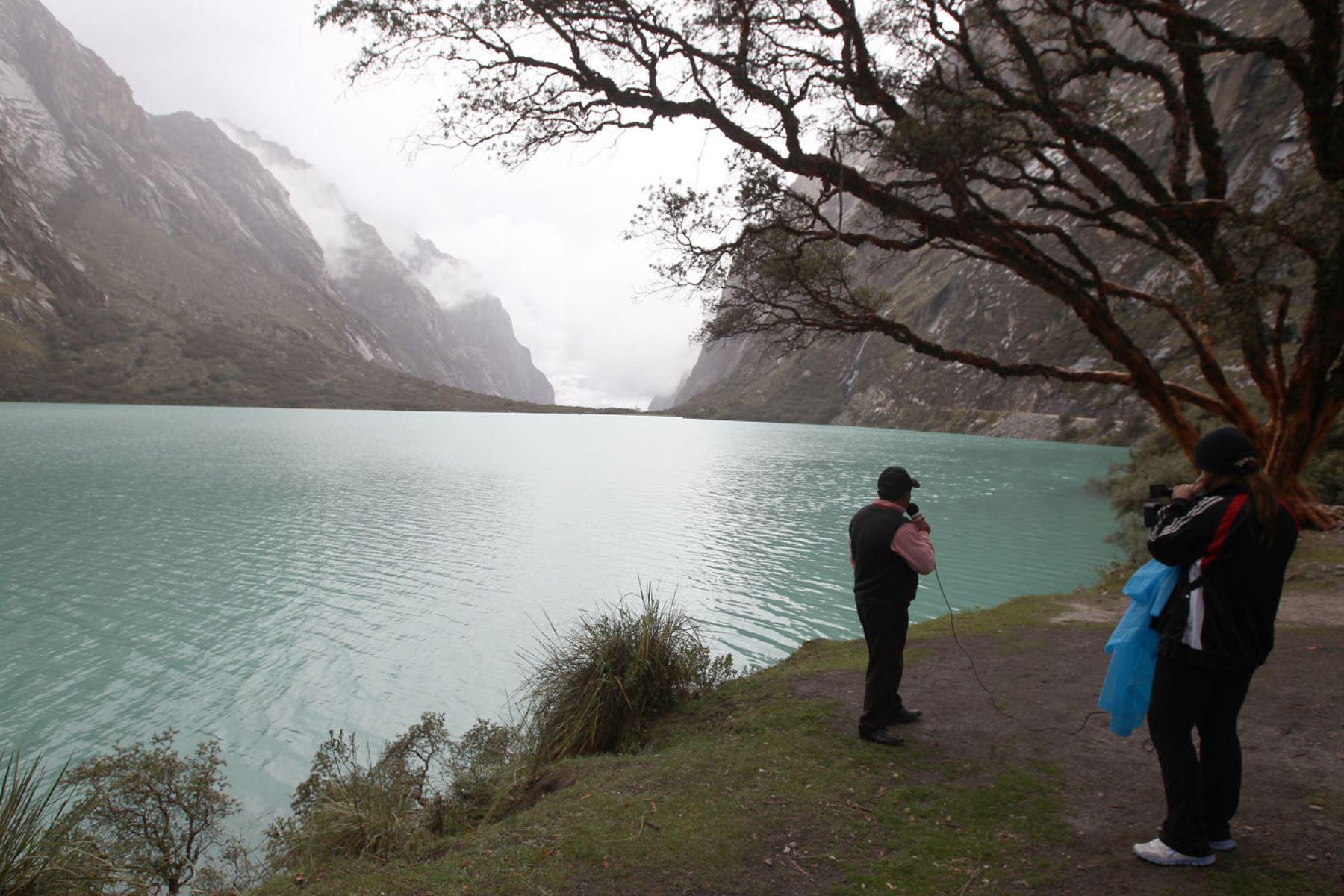 LIMA,PERÚ-FEBRERO 10.Huaraz,ciudad de Yungay,cementerio y Laguna Llanganuco ó Chinancocha.Foto:ANDINA/Héctor Vinces.