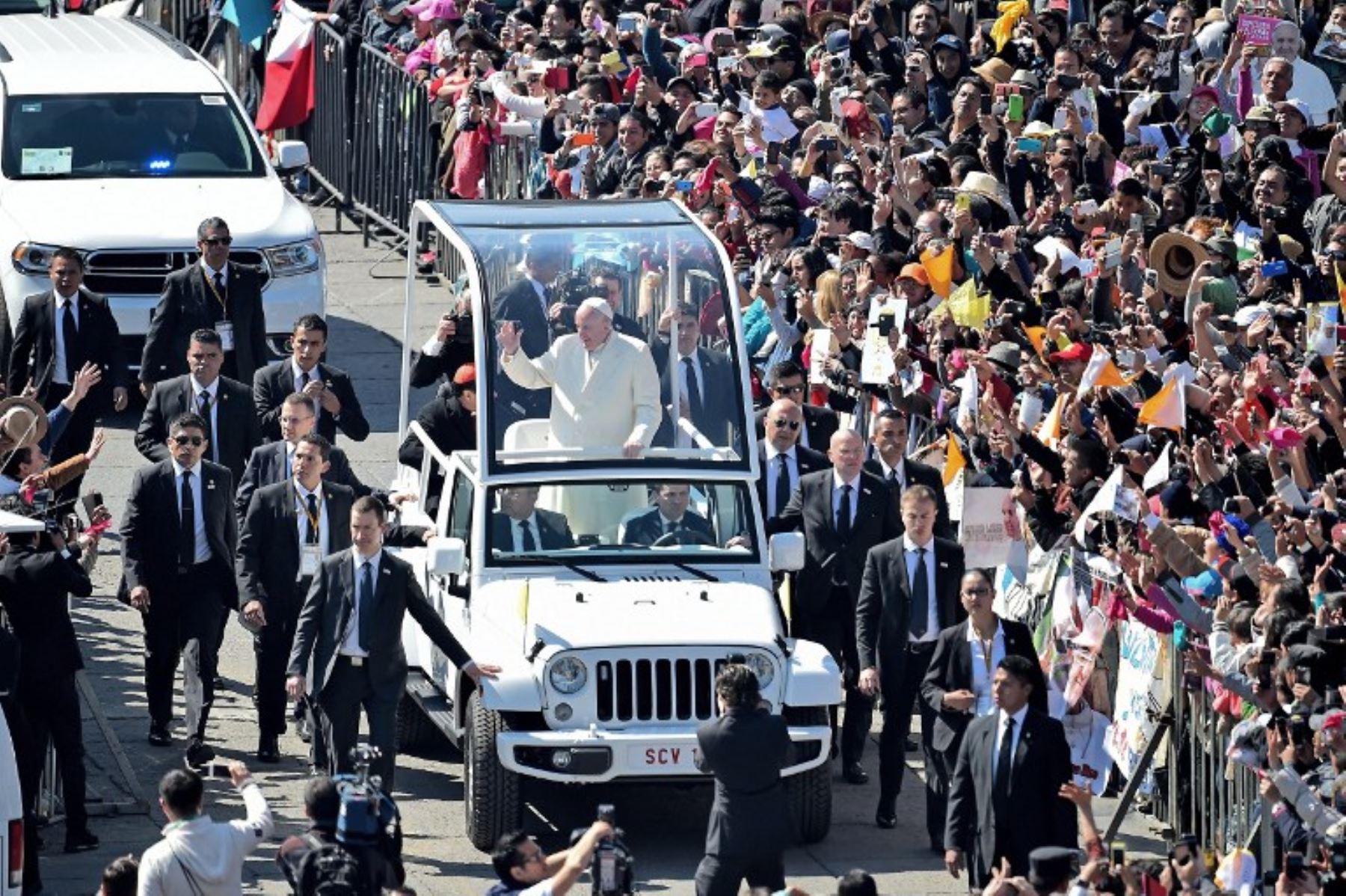 En esta nota te indicamos las rutas y los horarios por los que el Sumo Pontífice circulará por Lima.