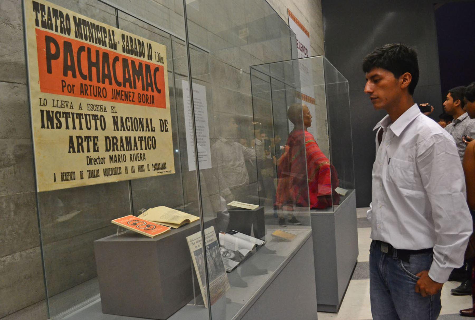 LIMA,PERÚ-FEBRERO 15. Primer Ministro, Pedro Cateriano, inauguró el nuevo nuevo Museo de Sitio de Pachacamac. Foto:ANDINA/Diana Marcelo