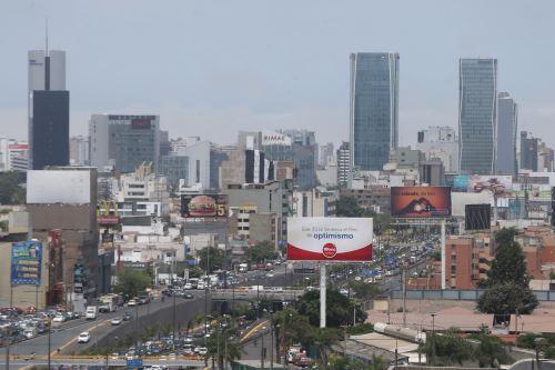 Vista de la capital del Perú. ANDINA/archivo