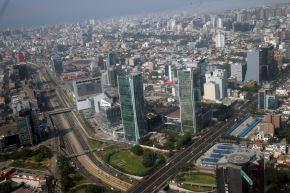 Centro financiero de Lima.Foto:  ANDINA/Norman Córdova