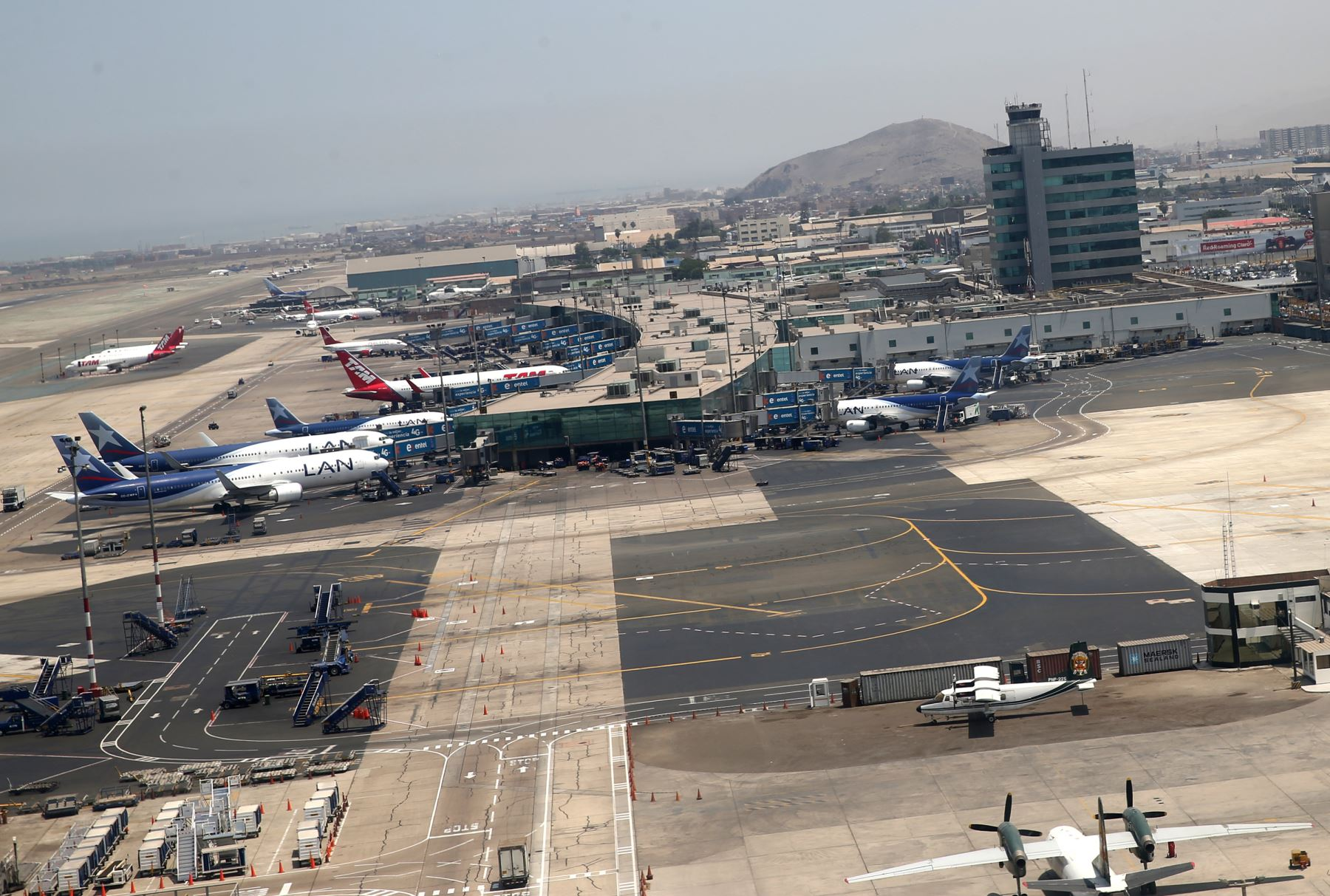 Aeropuerto Internacional Jorge Chávez ANDINA/Norman Córdova