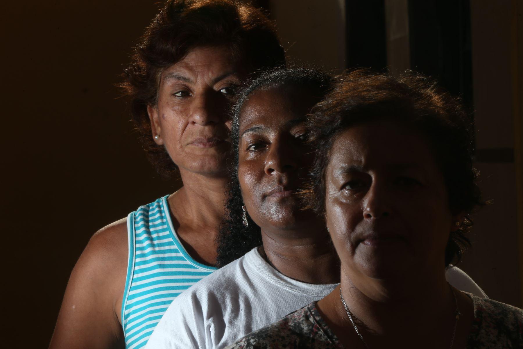 Milagros Farias voluntaria del ministerio de la Mujer en violencia contra la mujer.foto:ANDINA/Oscar Farje Gomero.