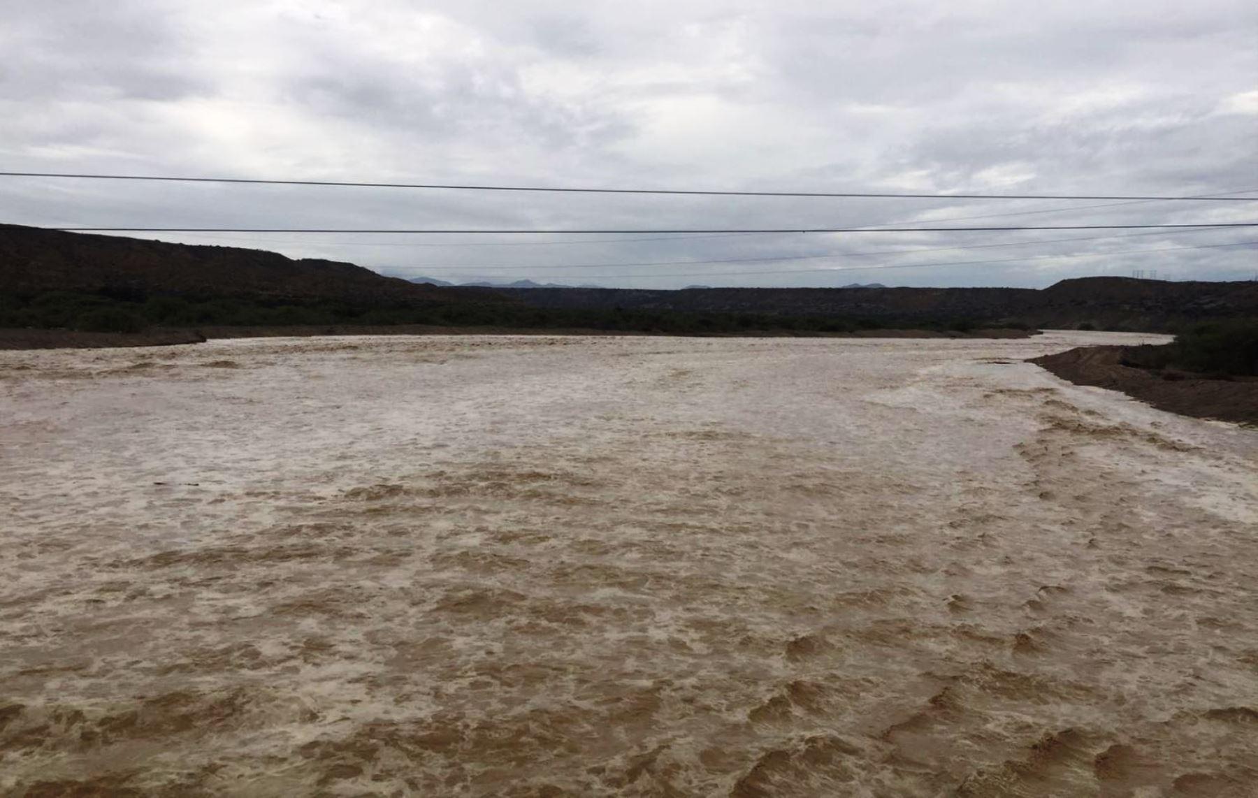 Senamhi alerta de posible desborde del río Tumbes que afectaría a la ciudad. ANDINA/Archivo