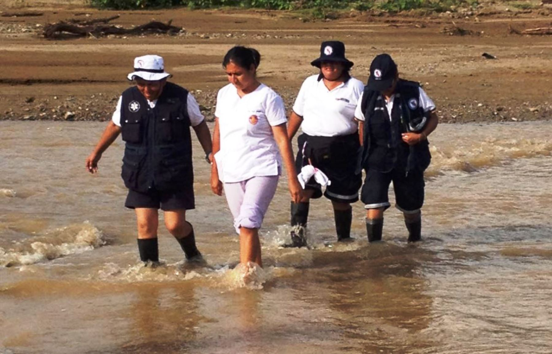 Minsa moviliza quinta brigada de atención médica en Picota, San Martín. ANDINA/Difusión