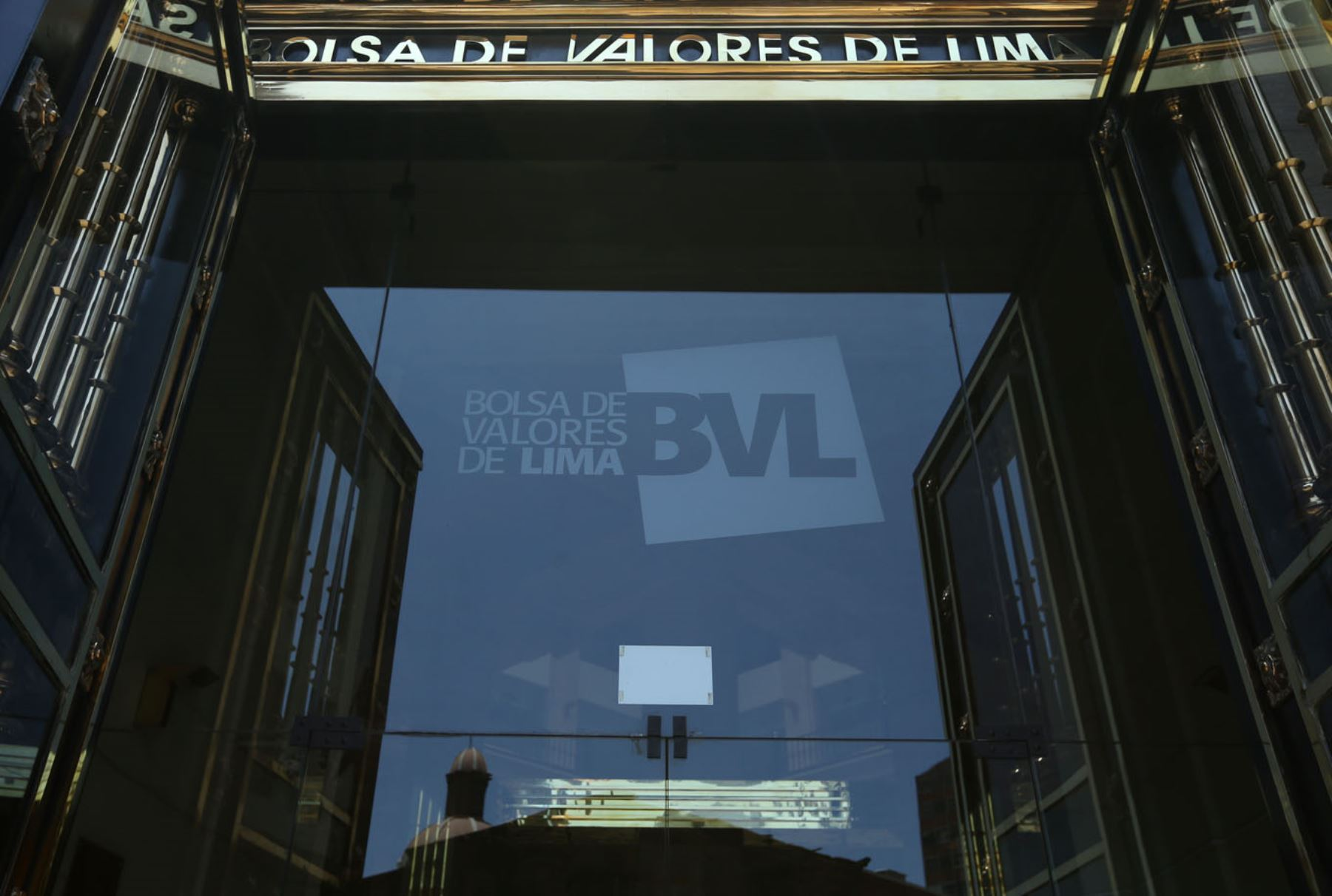 Bolsa de Valores de Lima. ANDINA/Melina Mejía