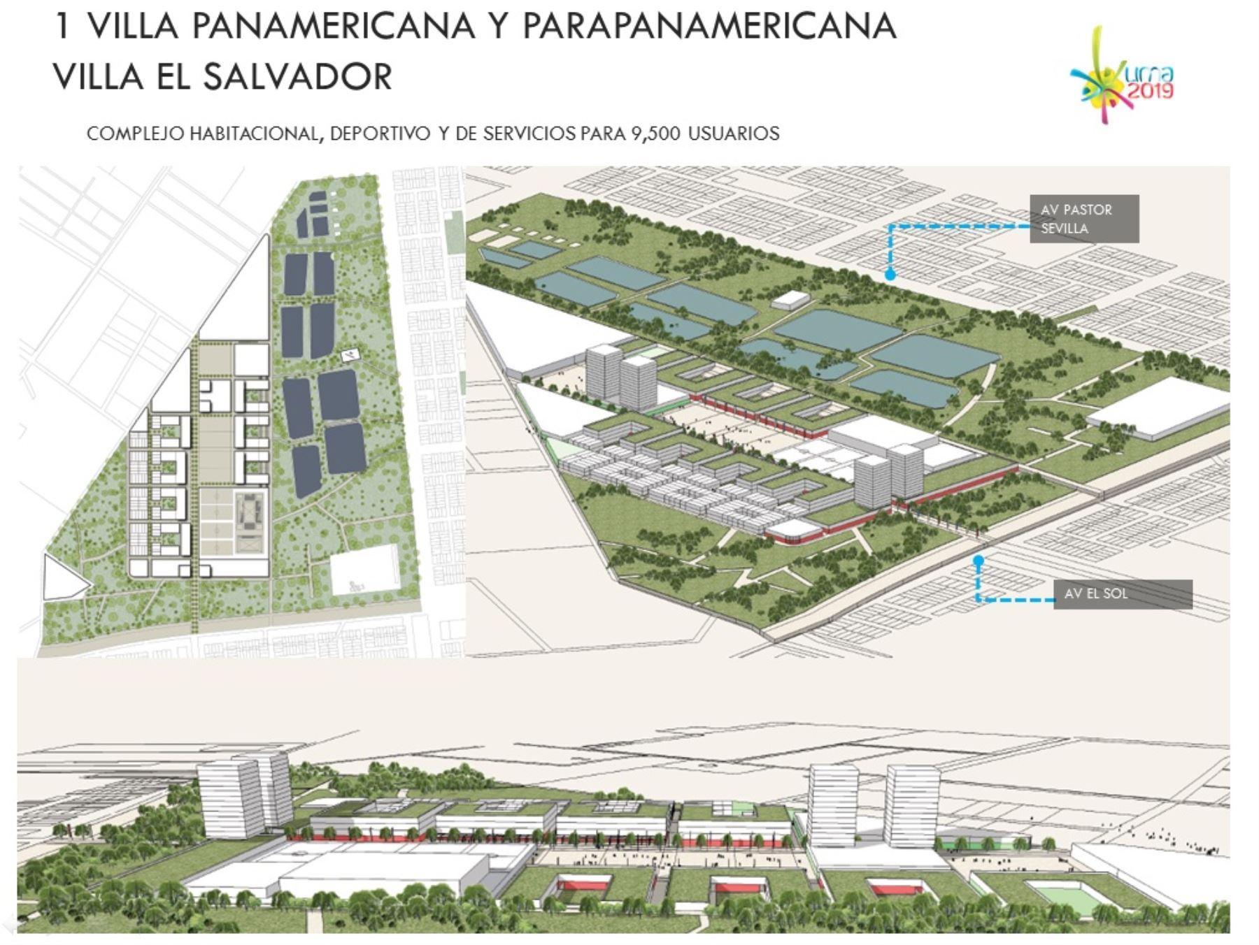 La Villa Panamericana estará ubicada en Villa El Salvador
