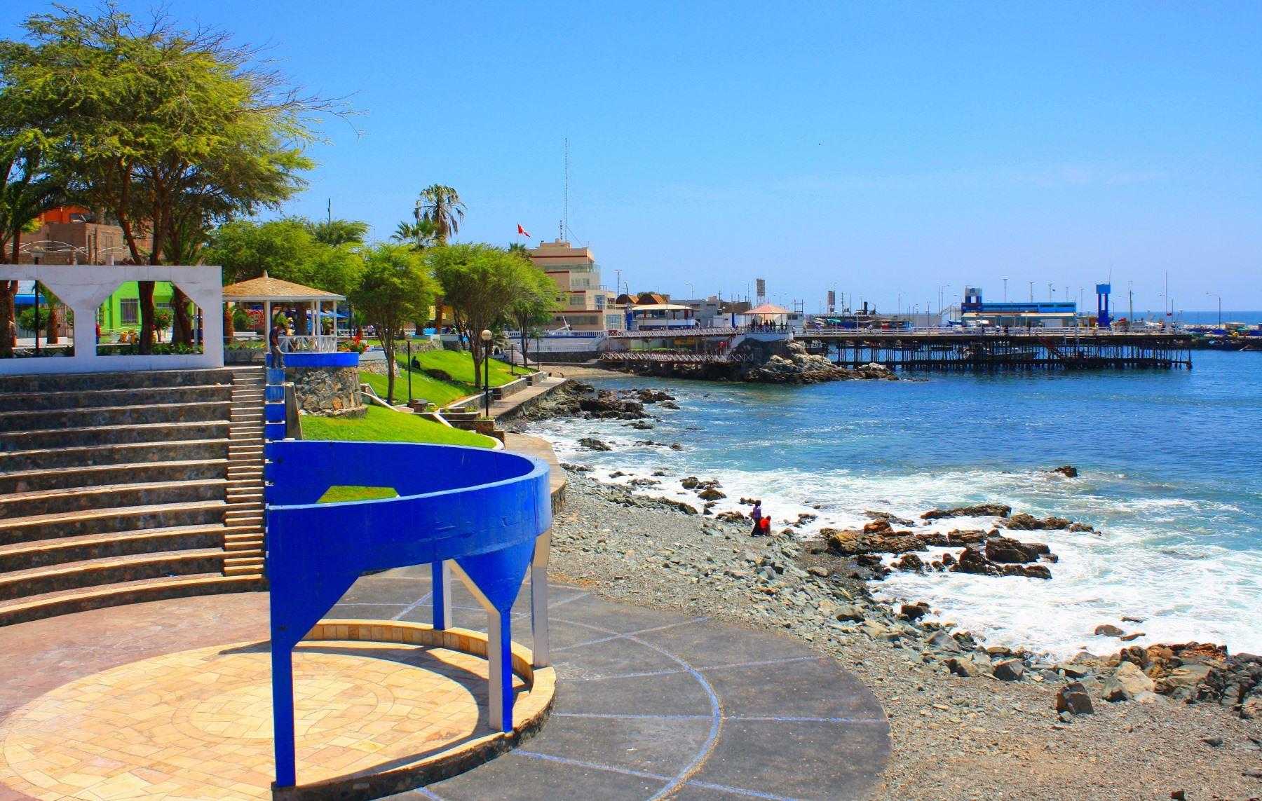 Ejecutarán proyecto para mejorar y ampliar el malecón costero de la ciudad de Ilo, en Moquegua. ANDINA