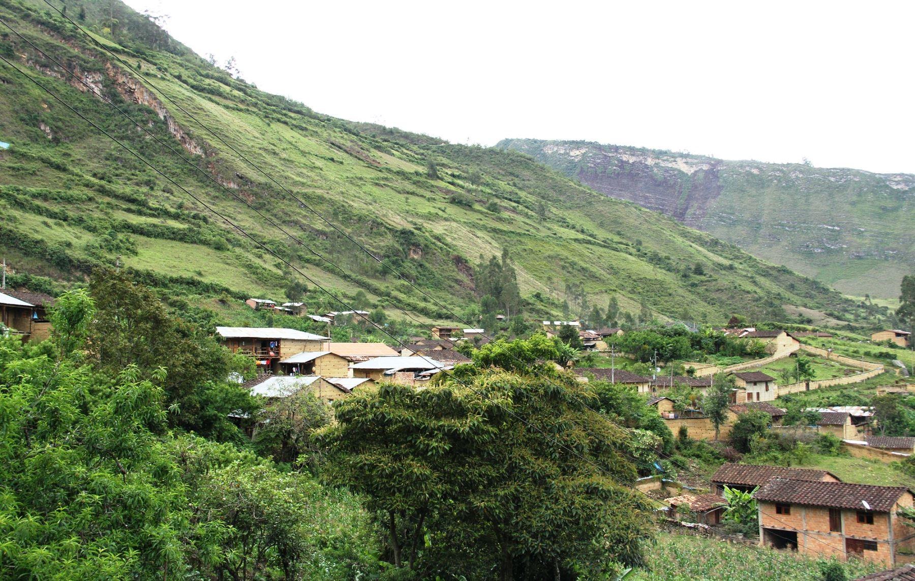 Ministerio de Cultura resaltó el paisaje cultural del Valle Alto del Utcubamba, ubicado en la región Amazonas.