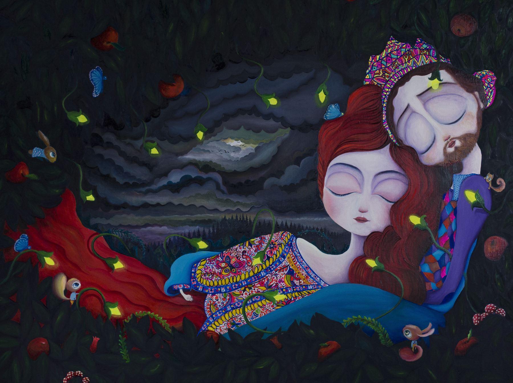 Joan Alfaro retrata el sentimiento y la realidad de nuestra cultura andina de manera surrealista. Foto: Cortesía