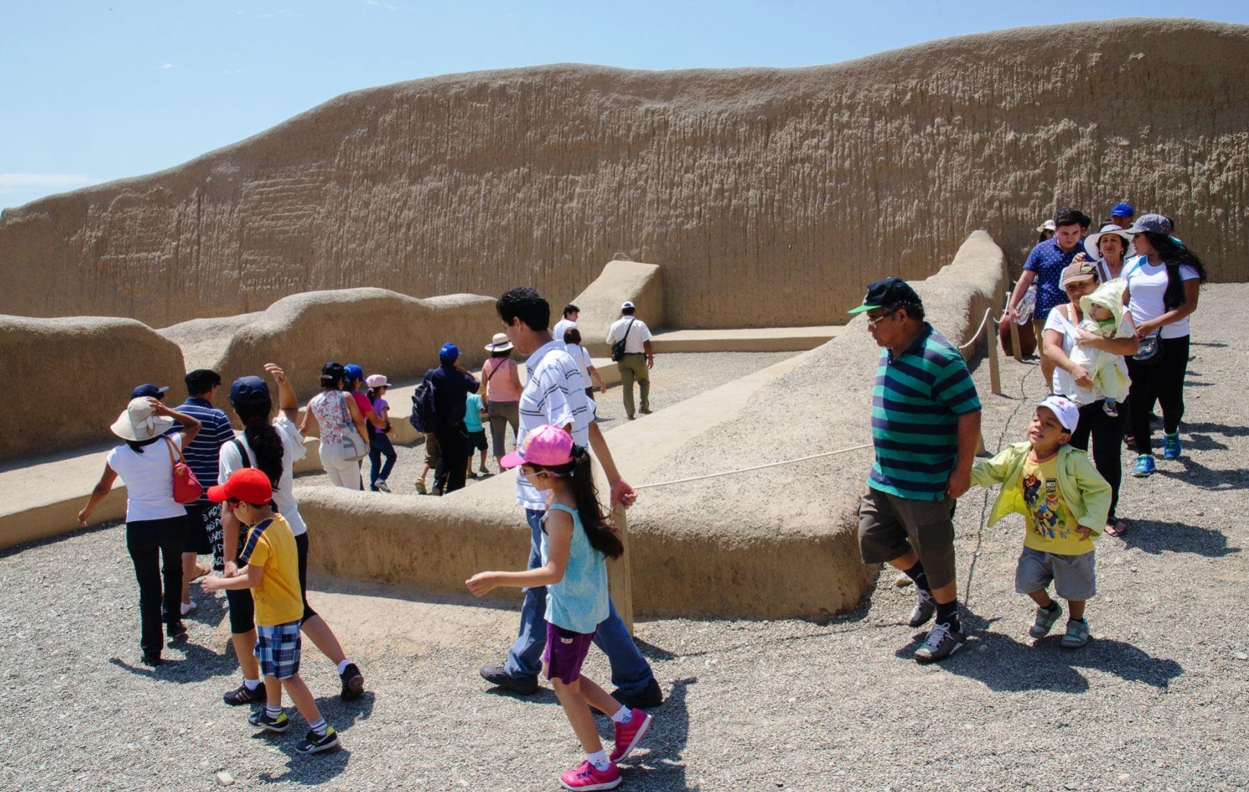 Ejecutarán proyectos para mejorar los museos de sitio de Chan Chan y huacas del Sol y la Luna, en Trujillo. ANDINA