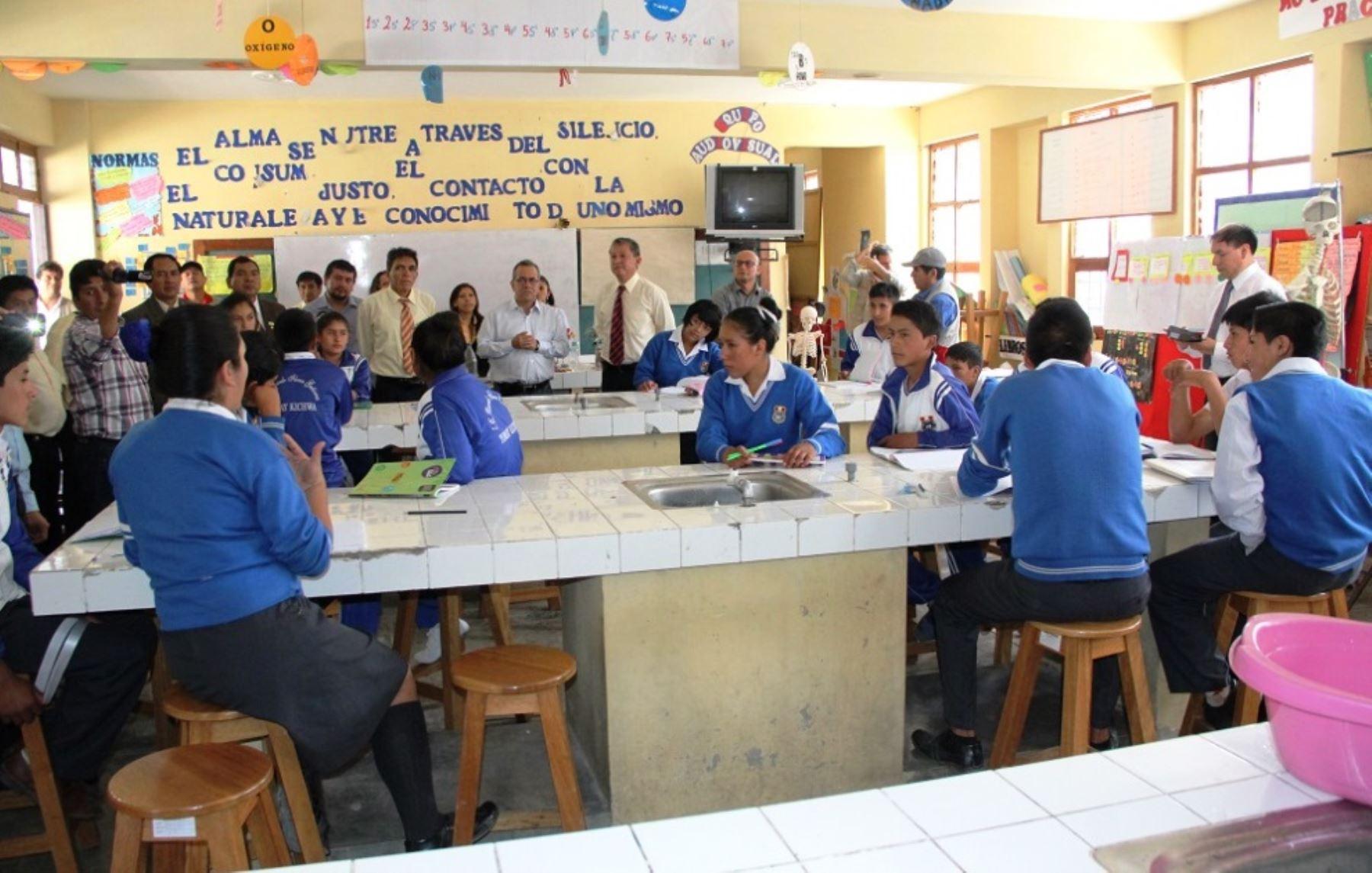 Nuevo Curriculo Escolar de Educación Básica está en pleno proceso de implementación, informó viceministro de Gestión Pedagógica, Flavio Figallo.