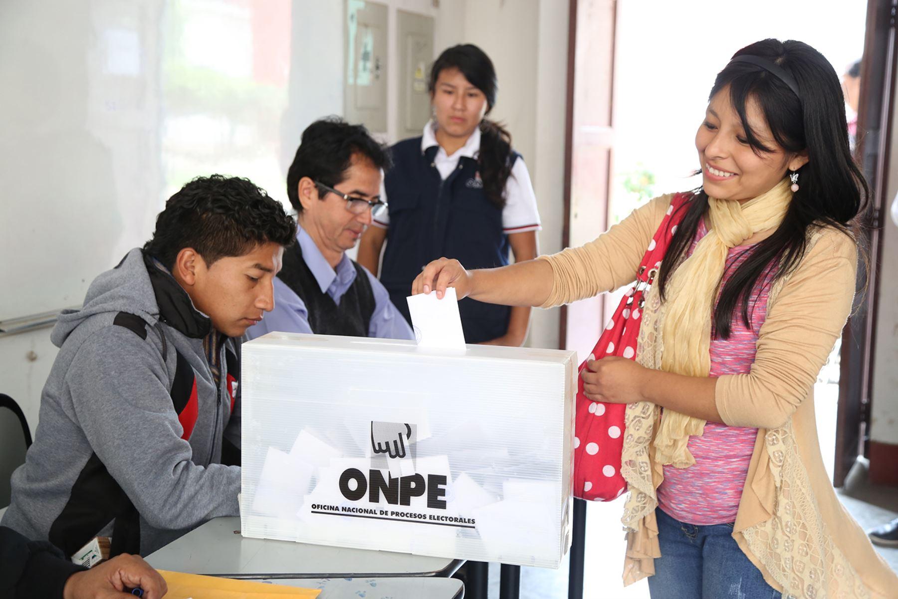 Elecciones. Foto: Cortesía