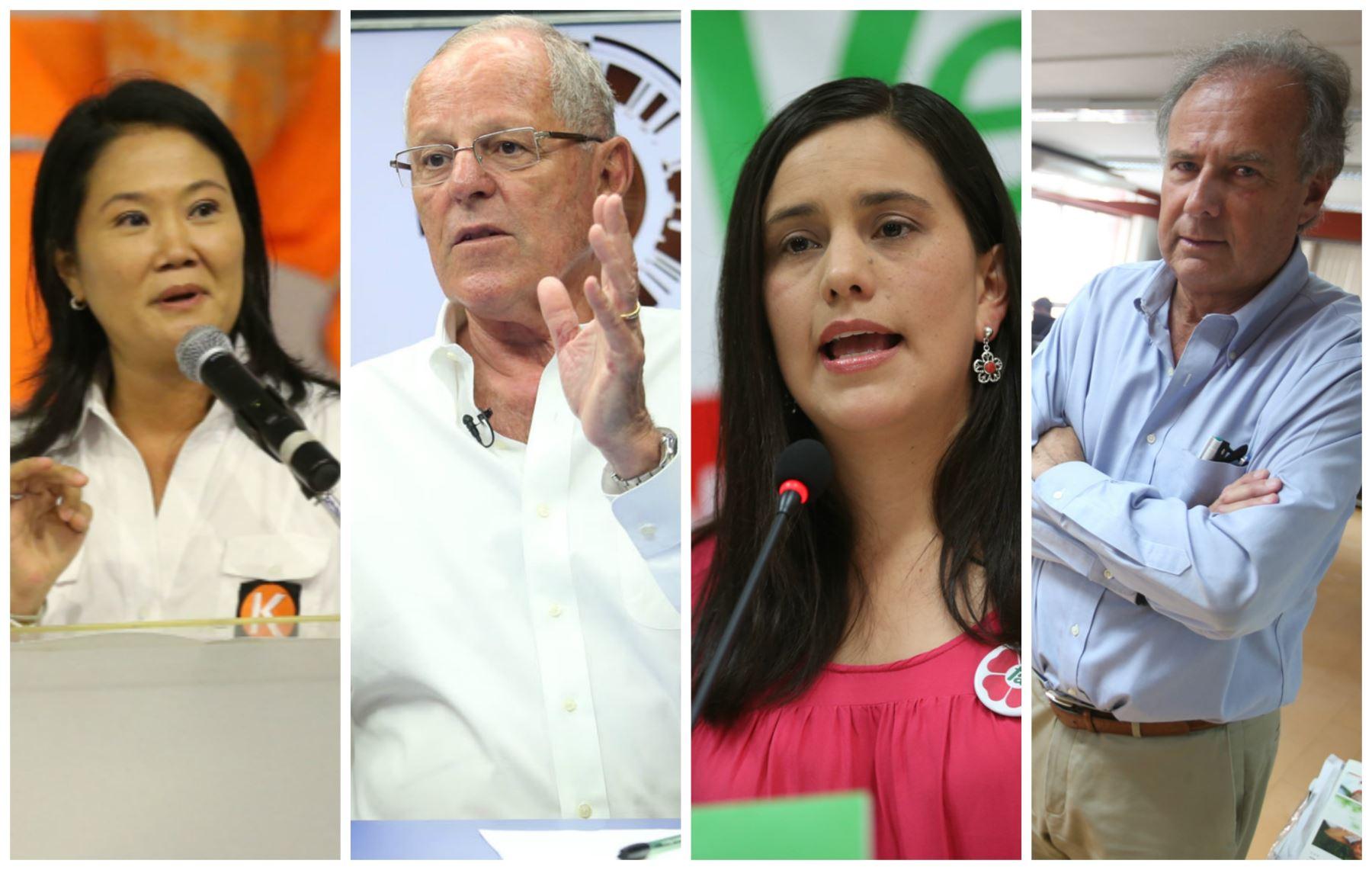 candidatos elecciones 2016