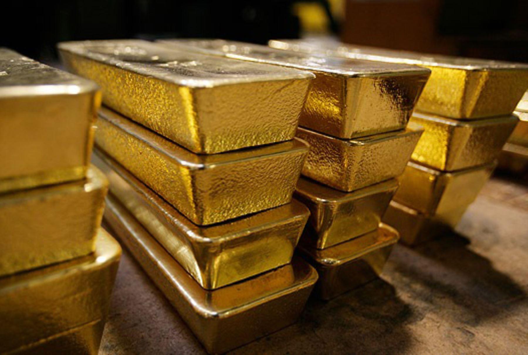 Barras de oro. INTERNET/Medios