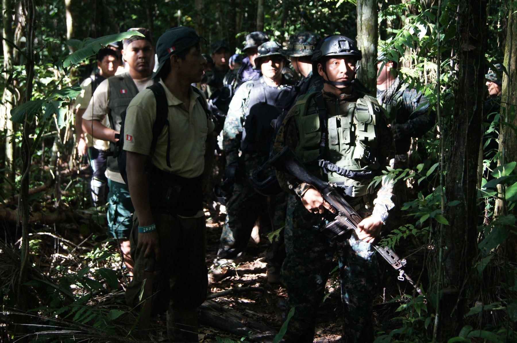 Presencia de la Fuerzas Armadas en la reserva de Tambopata ya es permanente.