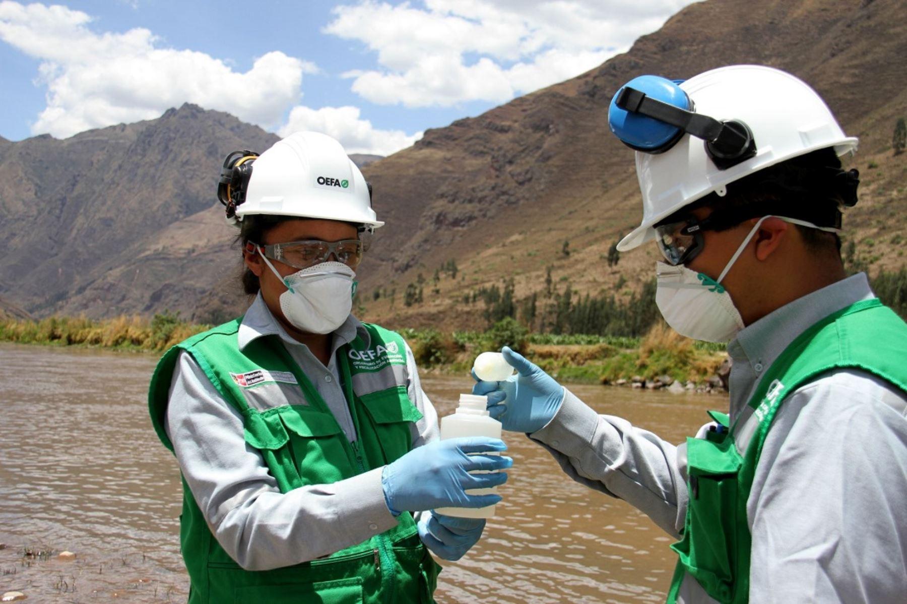 OEFA ordena a minera cerrar compuerta para evitar afectación de río Torata, en Moquegua. ANDINA/Difusión