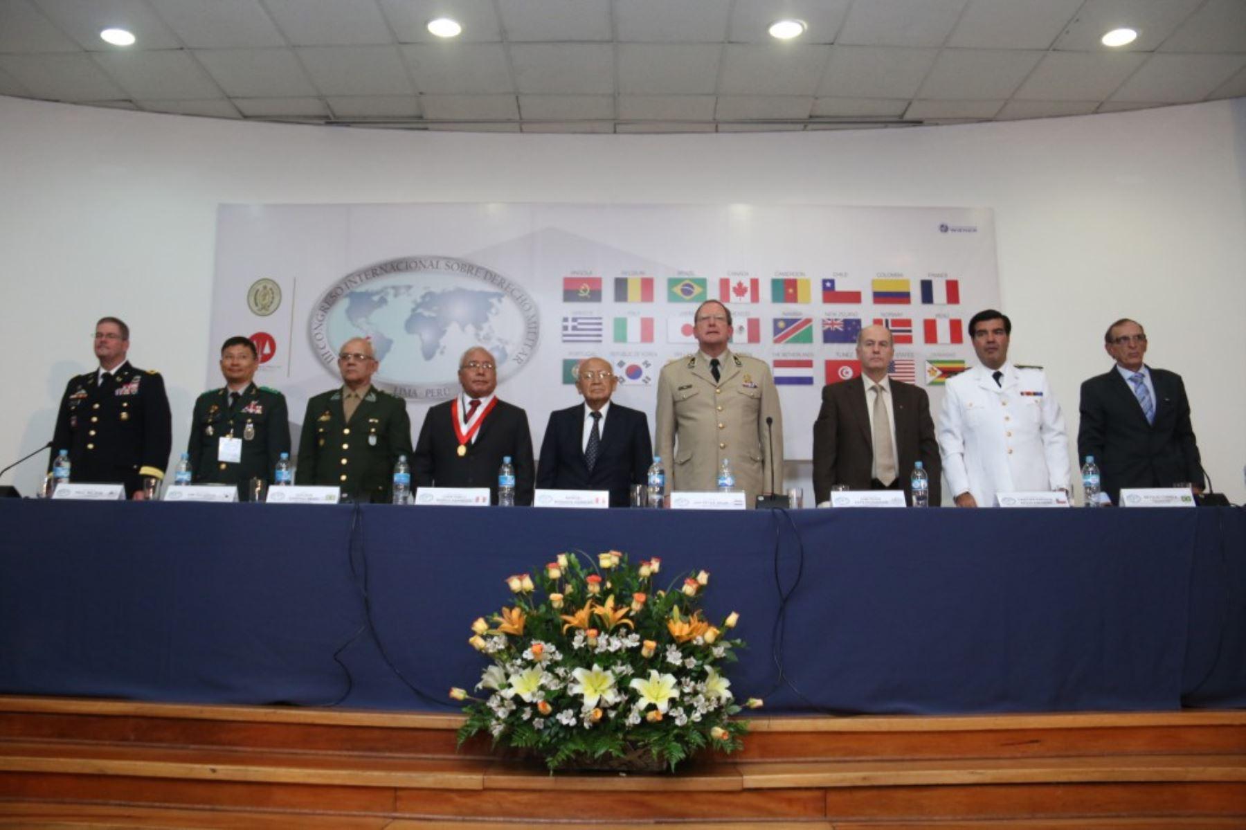 III Congreso Internacional de Derecho Militar, en Lima. Difusión