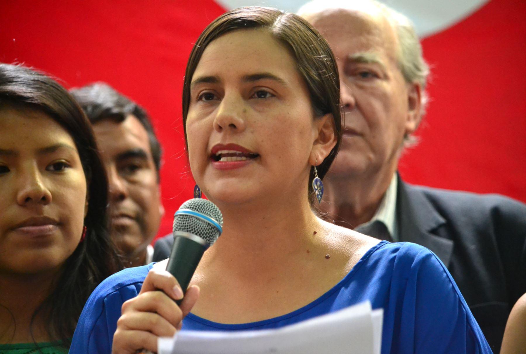 Frente Amplio defenderá reforma universitaria, asegura Verónika Mendoza | Noticias | Agencia Peruana de Noticias Andina