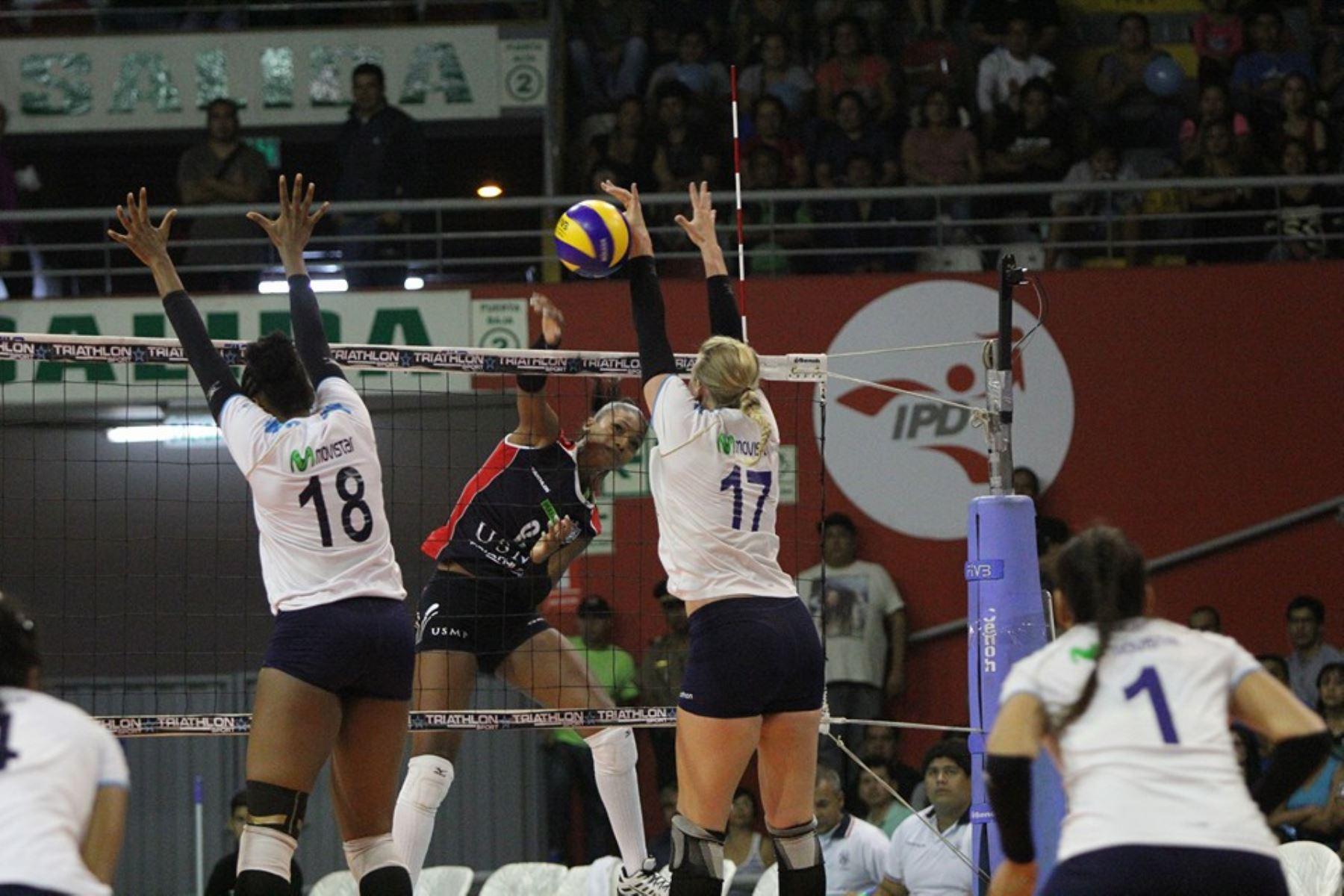 San Martín se consagró campeón de la Liga Nacional Superior de Voleibol. Foto: Facebook.