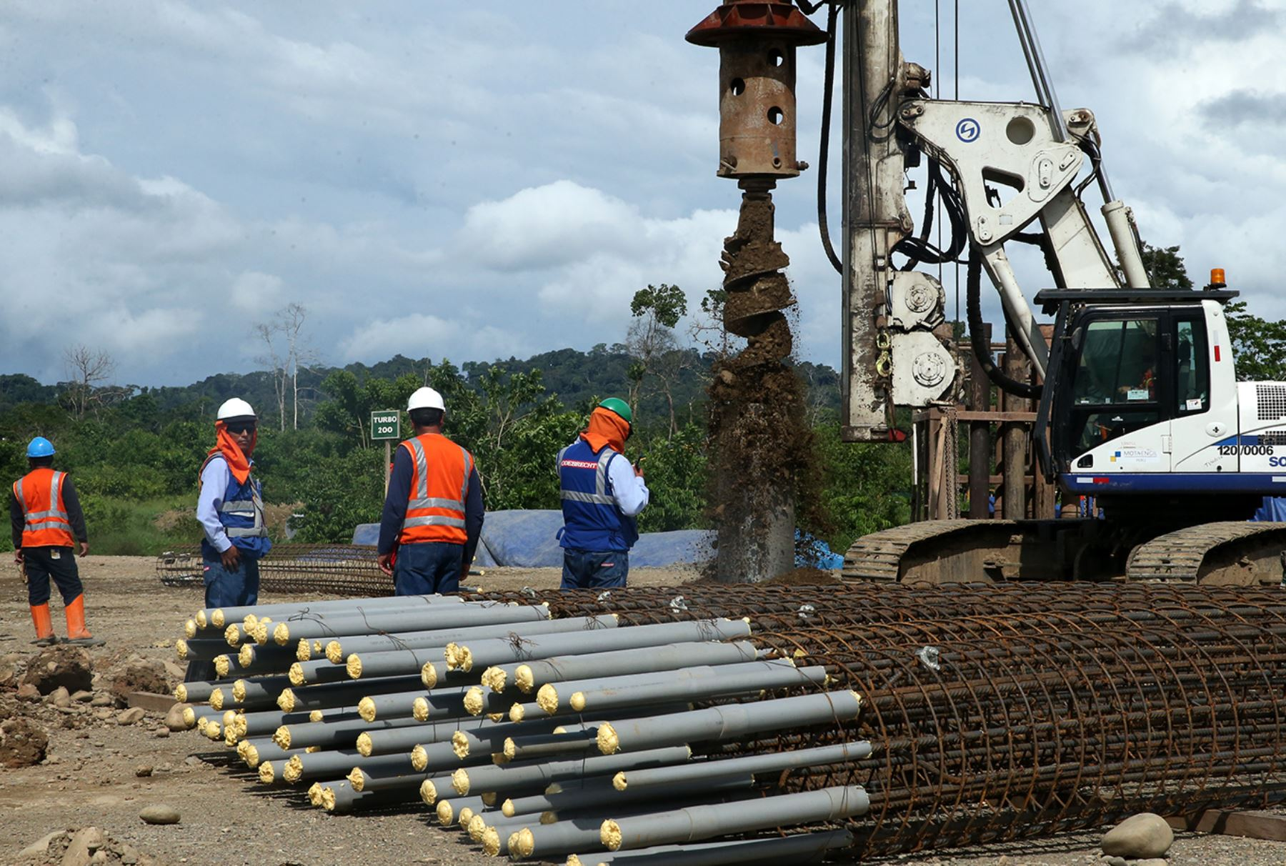 Gasoducto Sur Peruano (GSP). Foto: ANDINA/Melina Mejía.